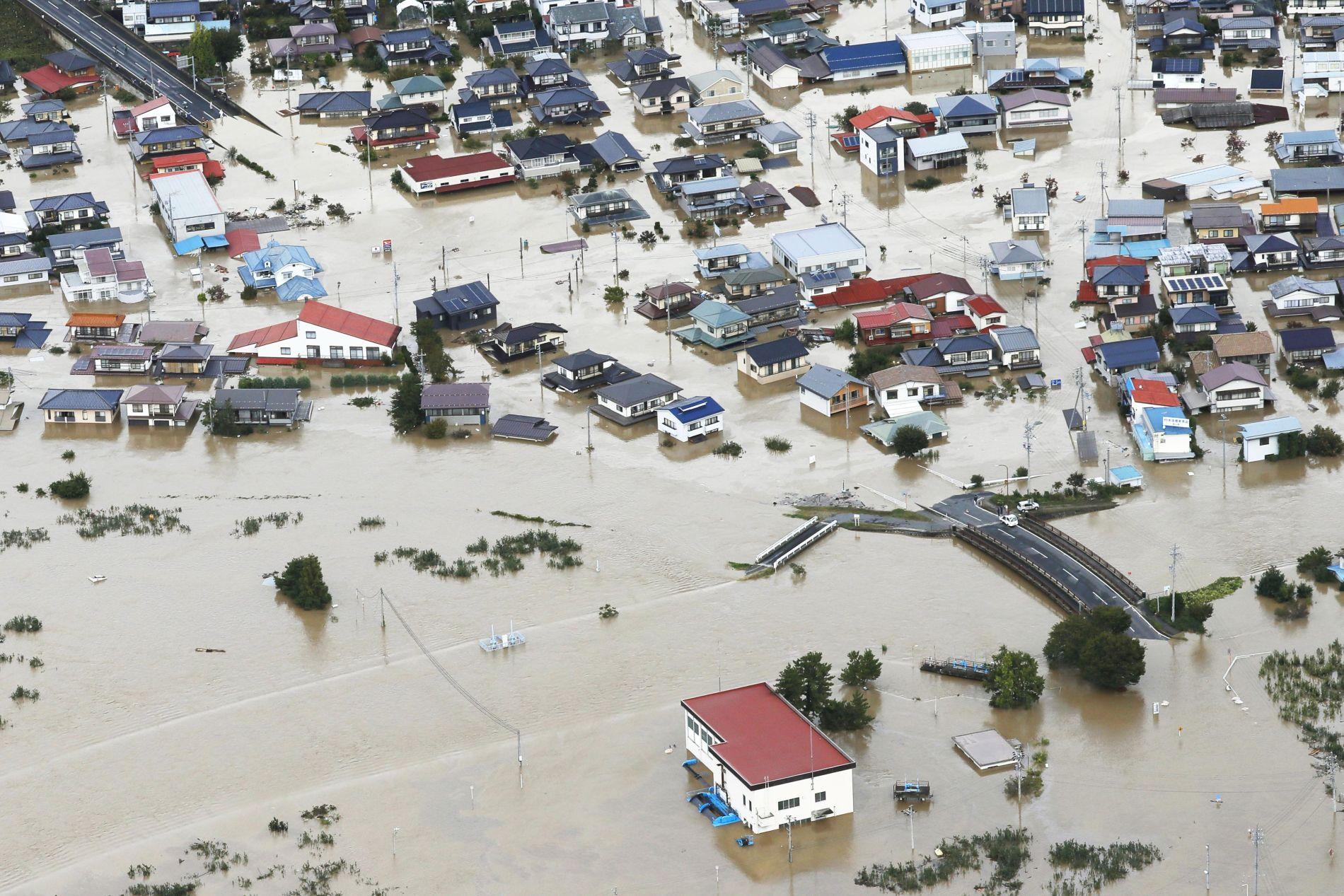 Aftermath of Super Typhoon Hagibis in Japan 024