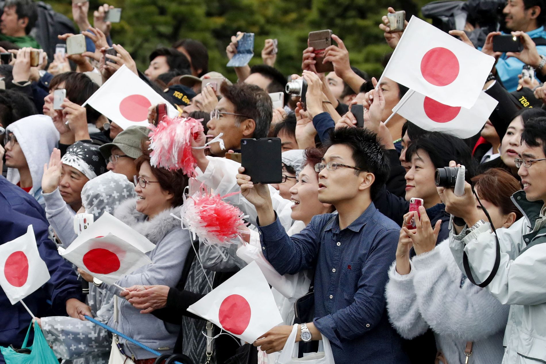 Emperor Naruhito Enthronement Ceremony 2019 Reiwa Era 071