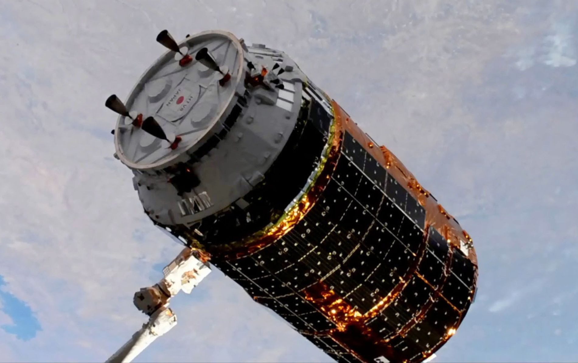Japan Cargo Spacecraft Konotori to the Moon 002