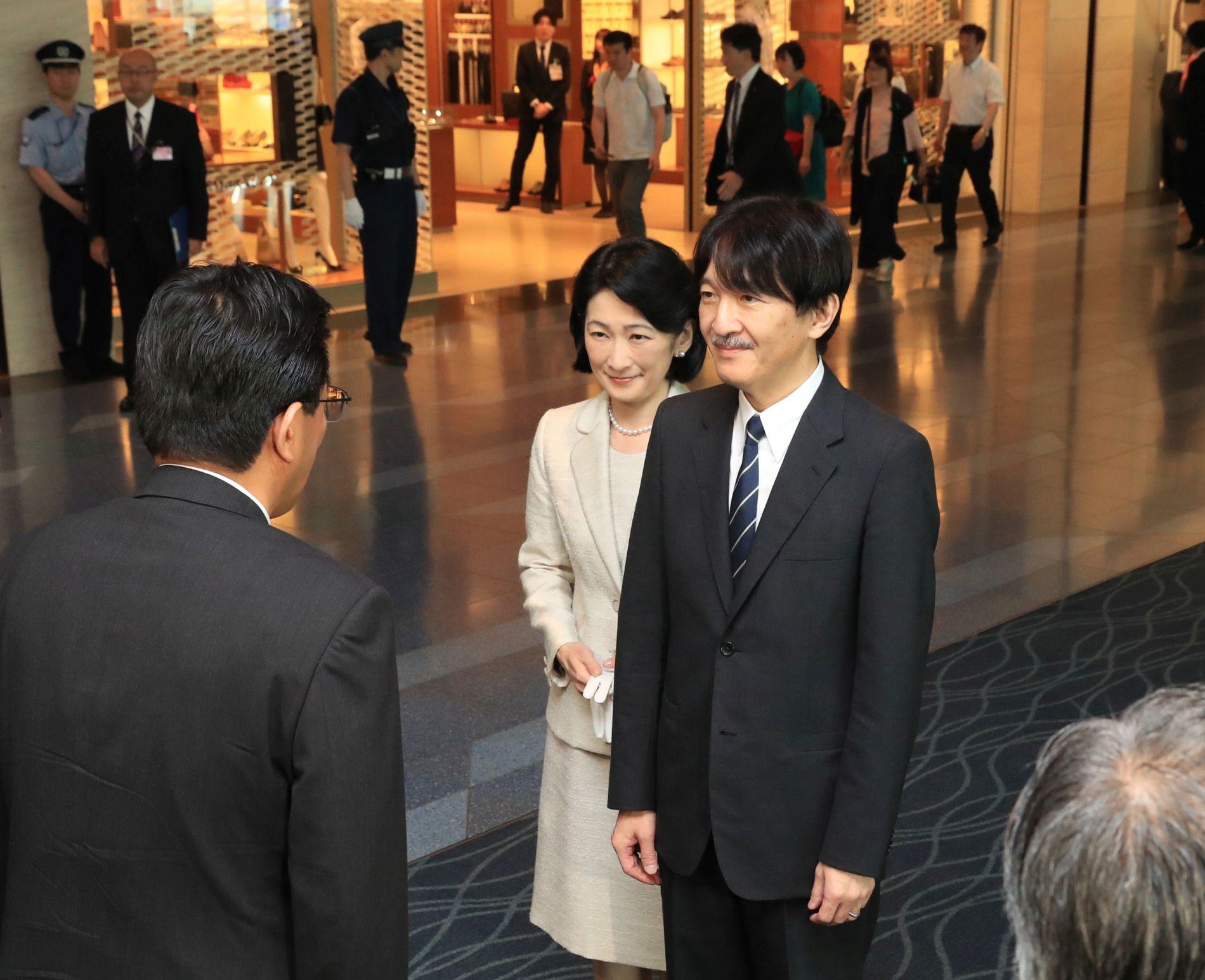 Japan Crown Prince and Princess Visit Poland