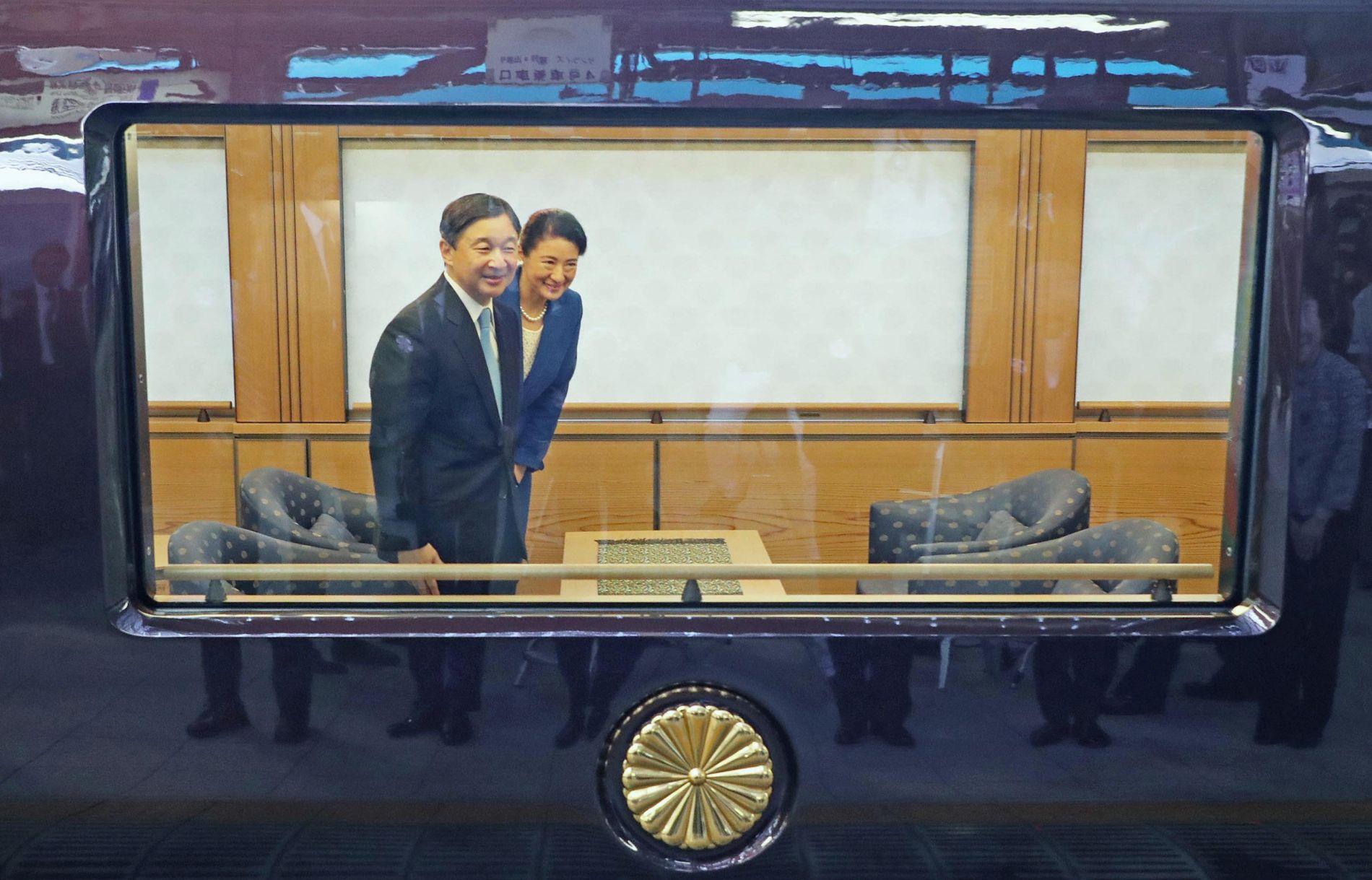 Japan Emperor and Empress Reiwa 2019 008