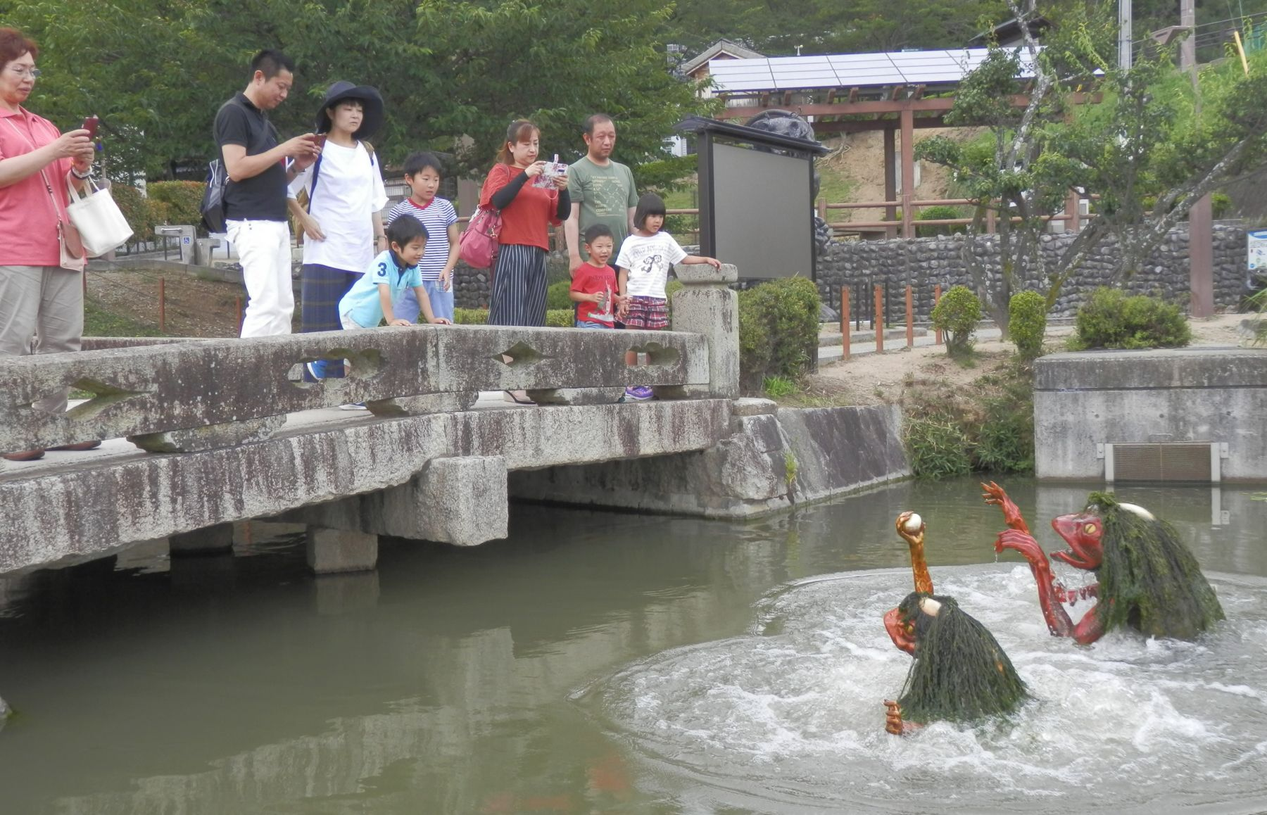 Japan Yokai Town of Fukusaki Where Monsters Lurk 002