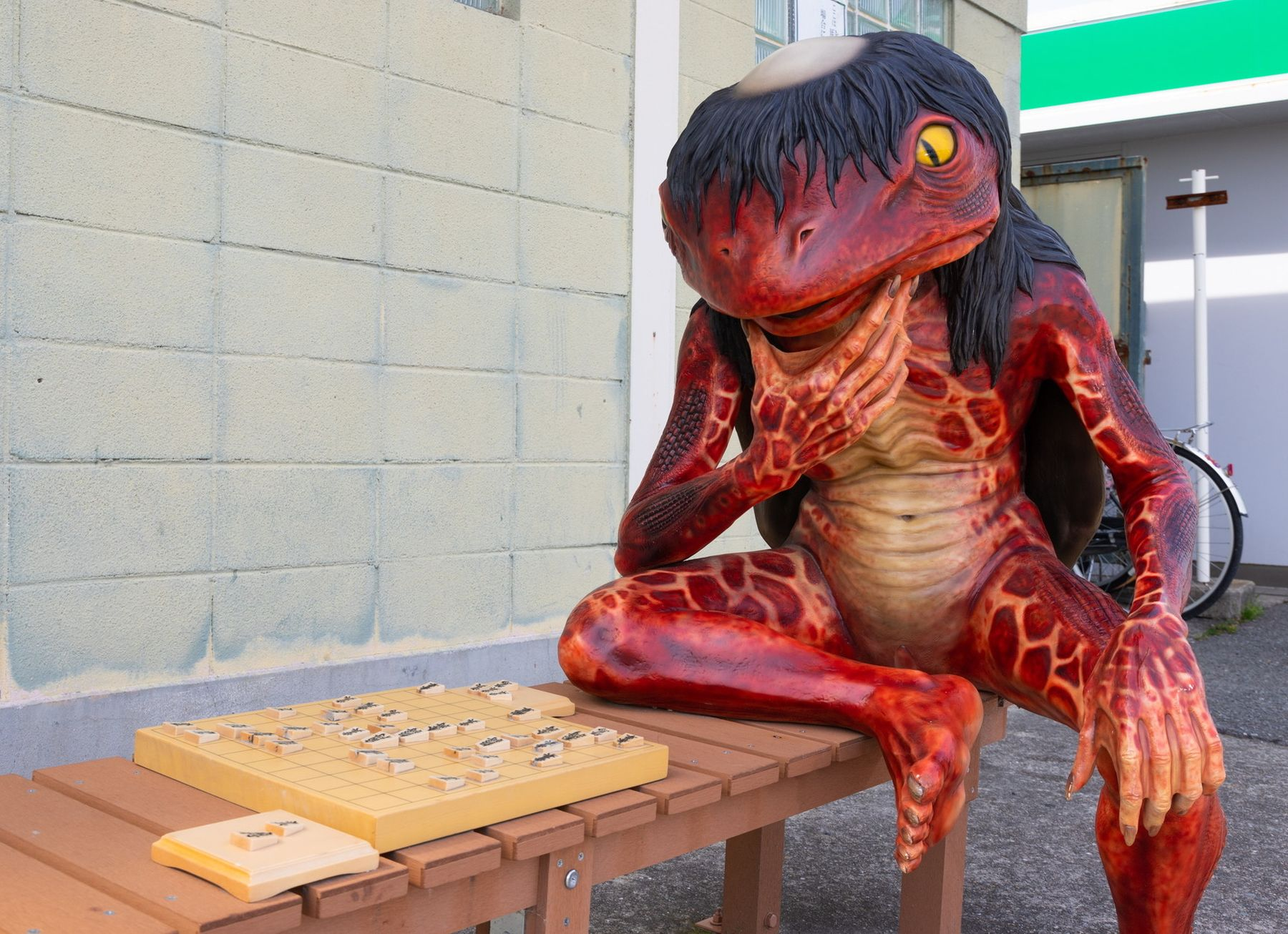 Japan Yokai Town of Fukusaki Where Monsters Lurk 007
