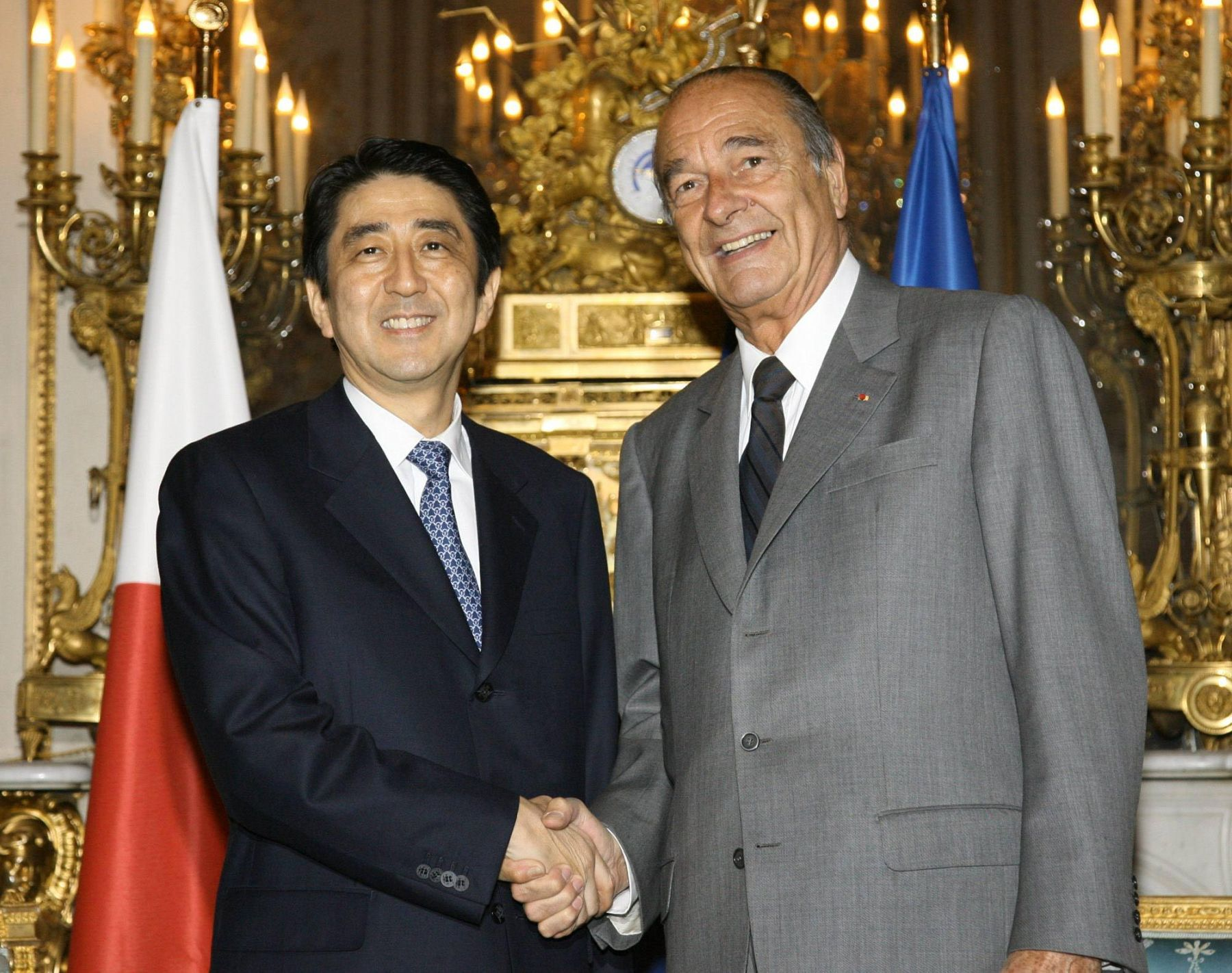 Obit Chirac French President who Loved Japan 011
