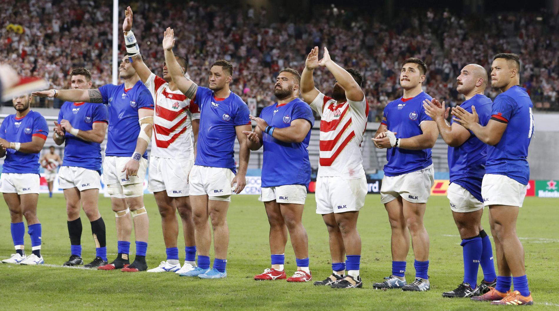 Rugby World Cup 2019 Japan vs Samoa 010