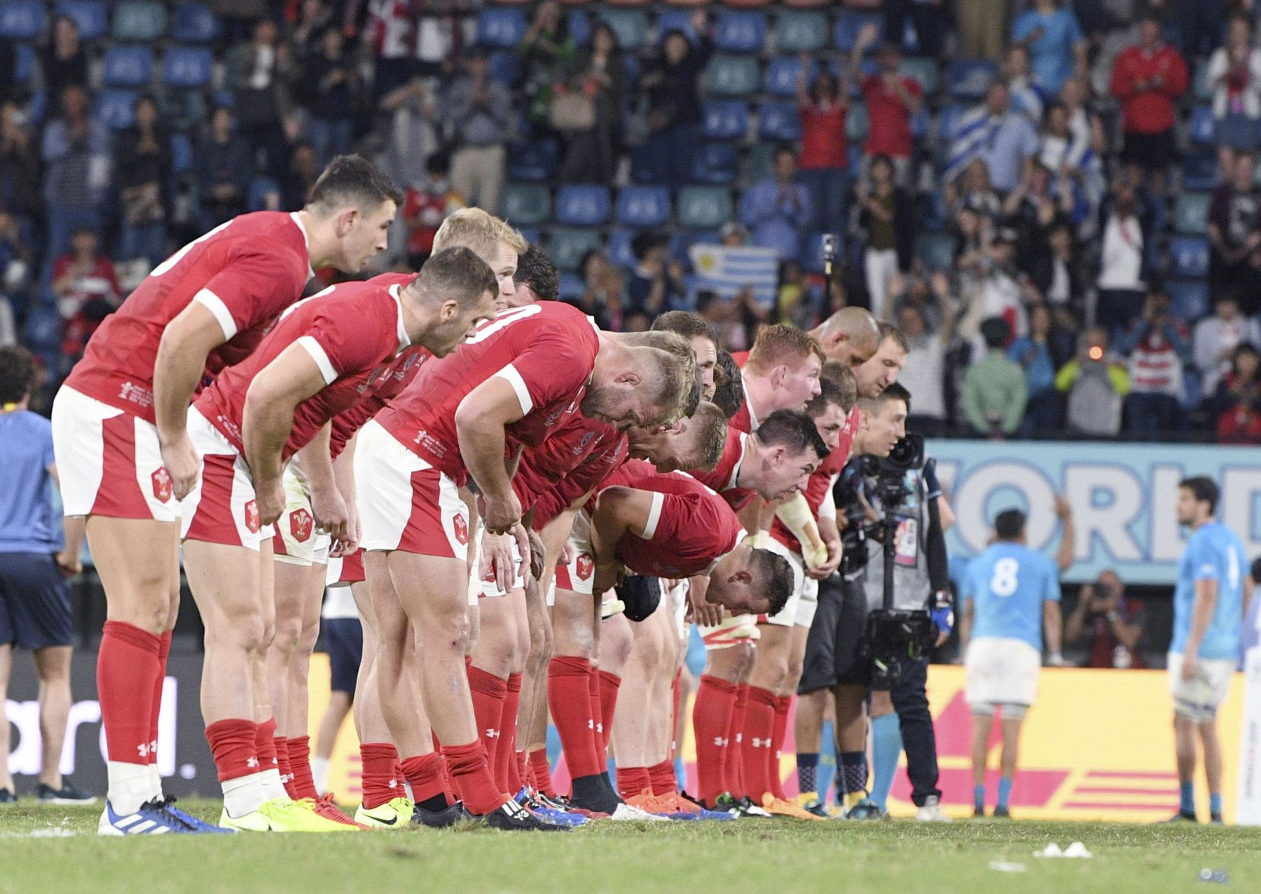 Rugby World Cup 2019 in Japan Wales Team 003