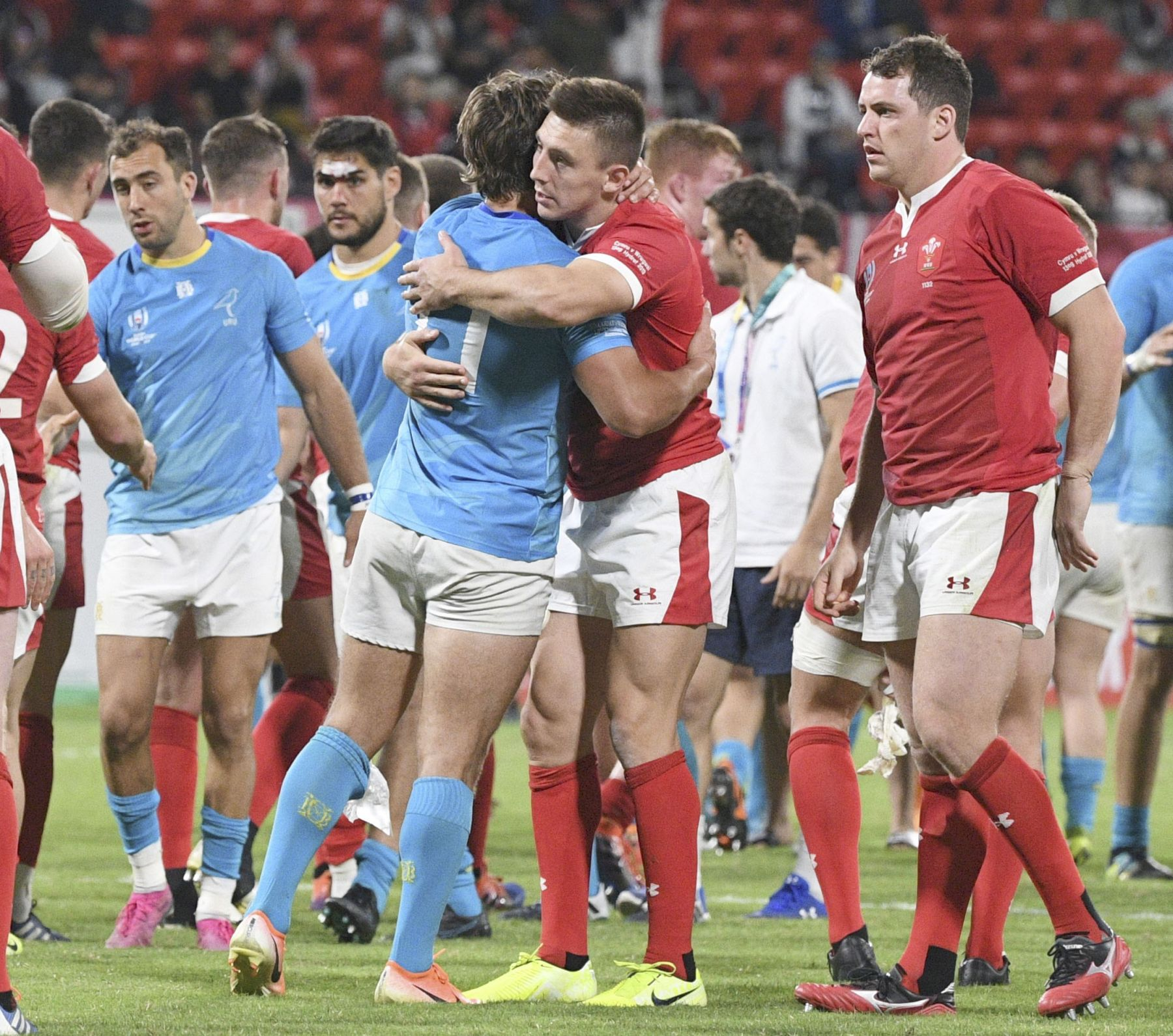 Rugby World Cup 2019 in Japan Wales Team 006
