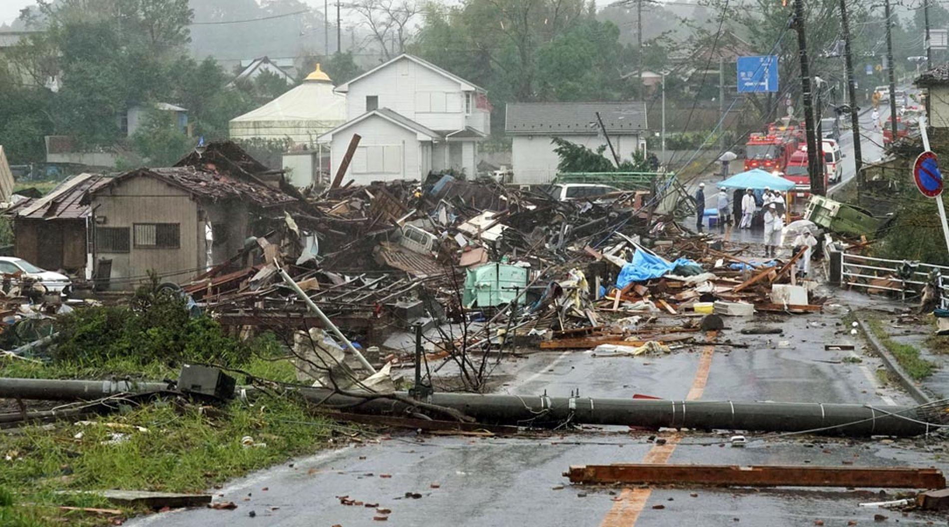 Super Typhoon Hagibis Hit Tokyo and Japan 011