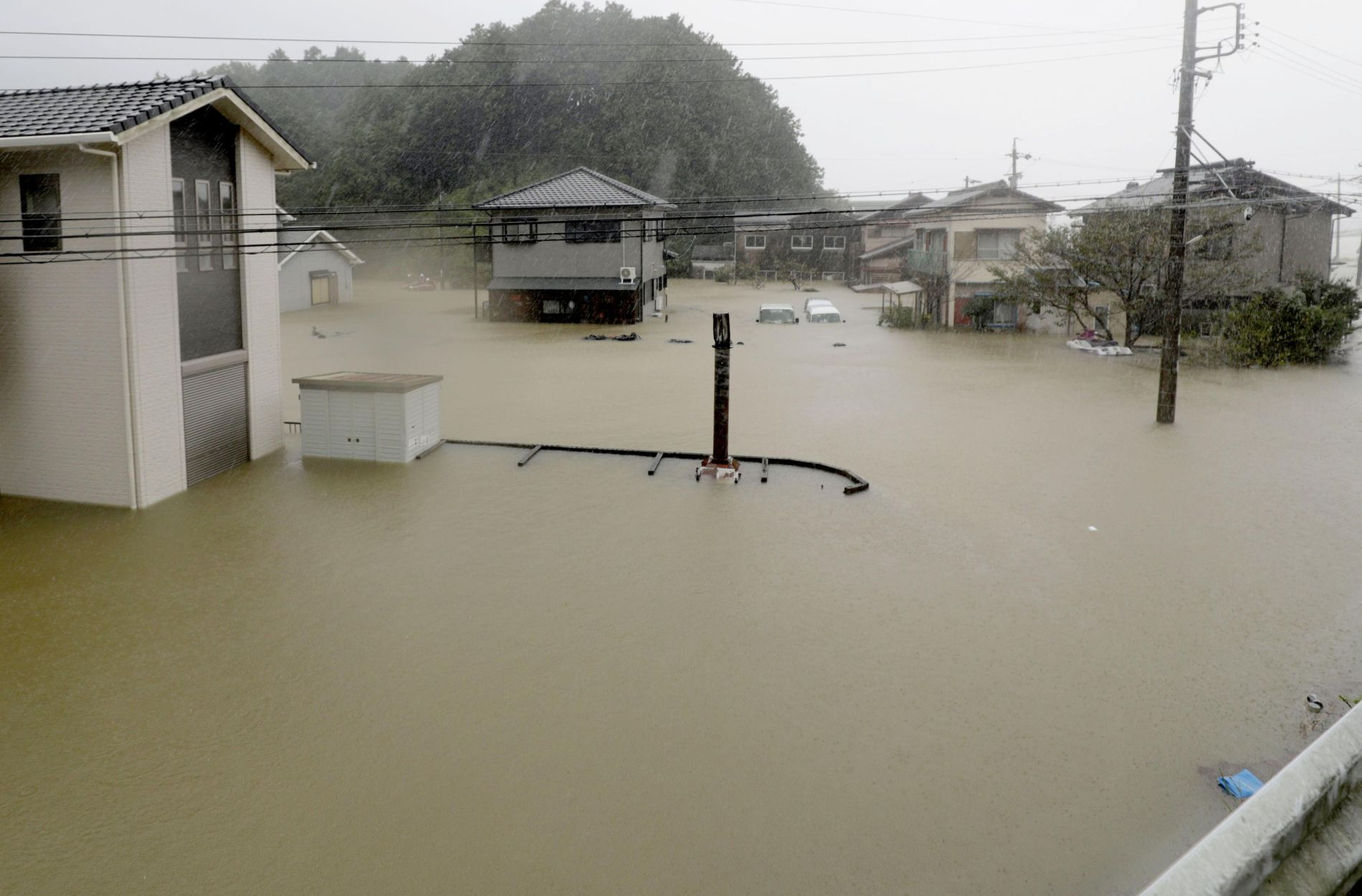 Super Typhoon Hagibis Hit Tokyo and Japan 017