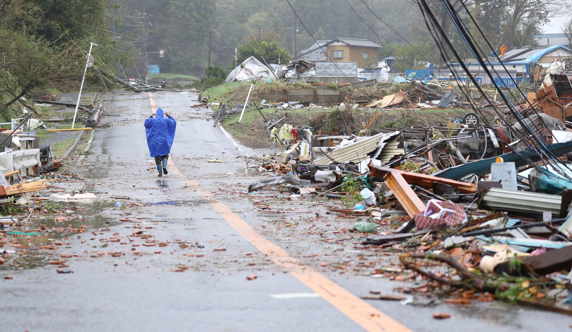 Super Typhoon Hagibis Hits Tokyo and Japan