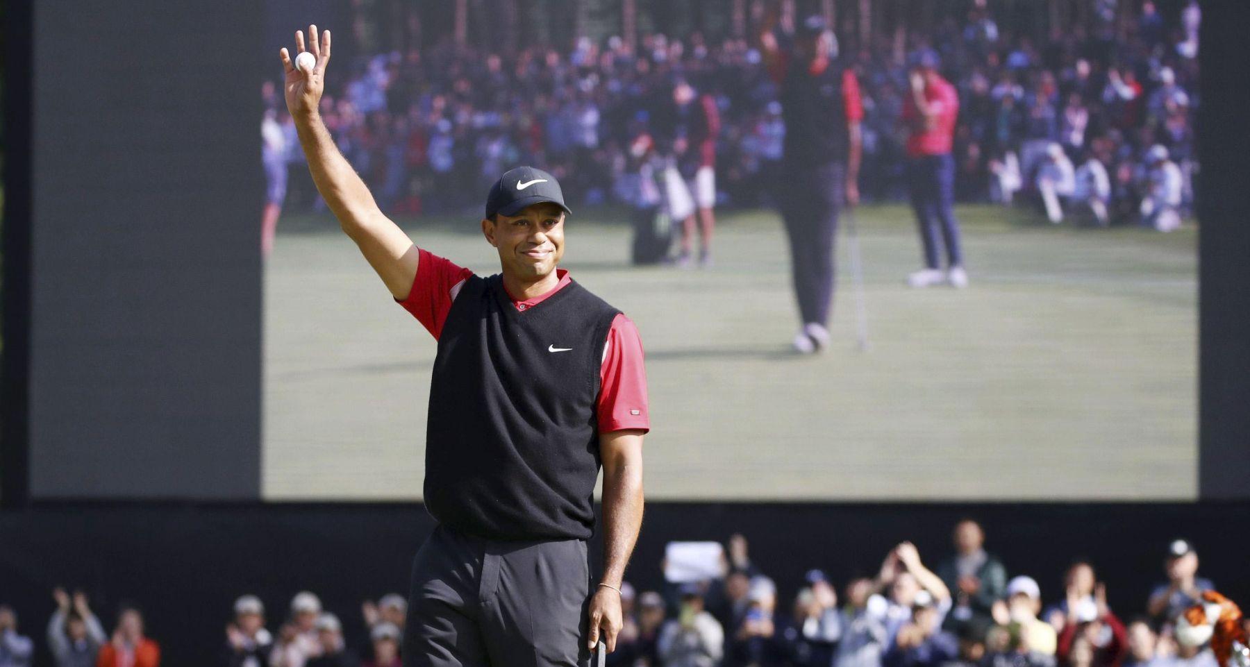 Tiger Woods 82 PGA Tour Win in Japan 001