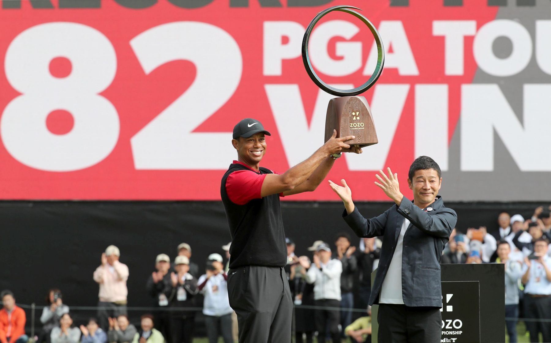 Tiger Woods 82 PGA Tour Win in Japan 003
