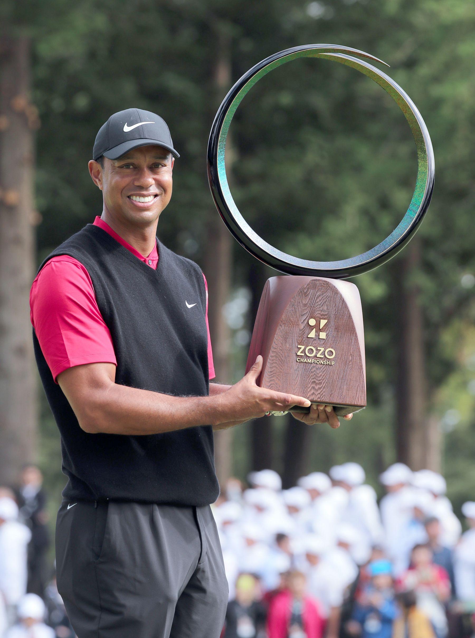 Tiger Woods 82 PGA Tour Win in Japan 011