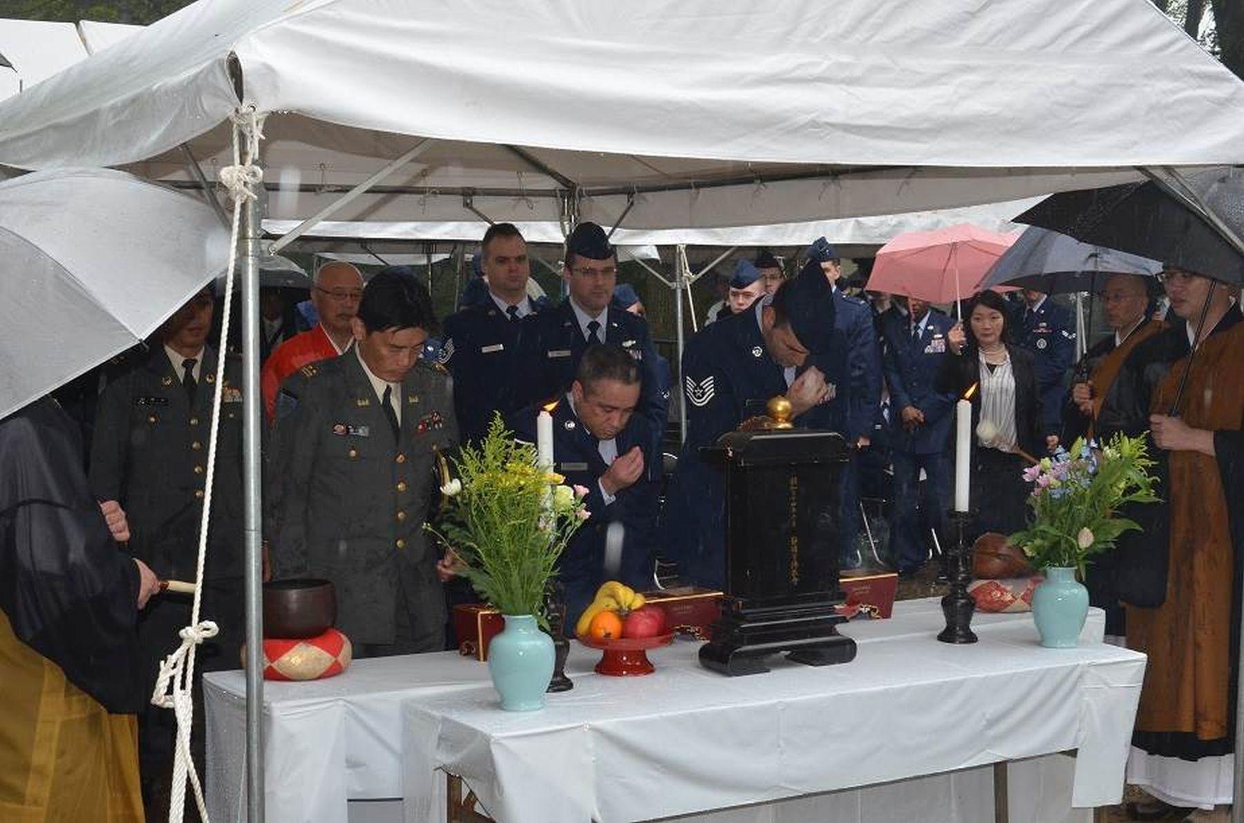 B-29 Crew Members Are Remembered in Memorials Across Japan 007