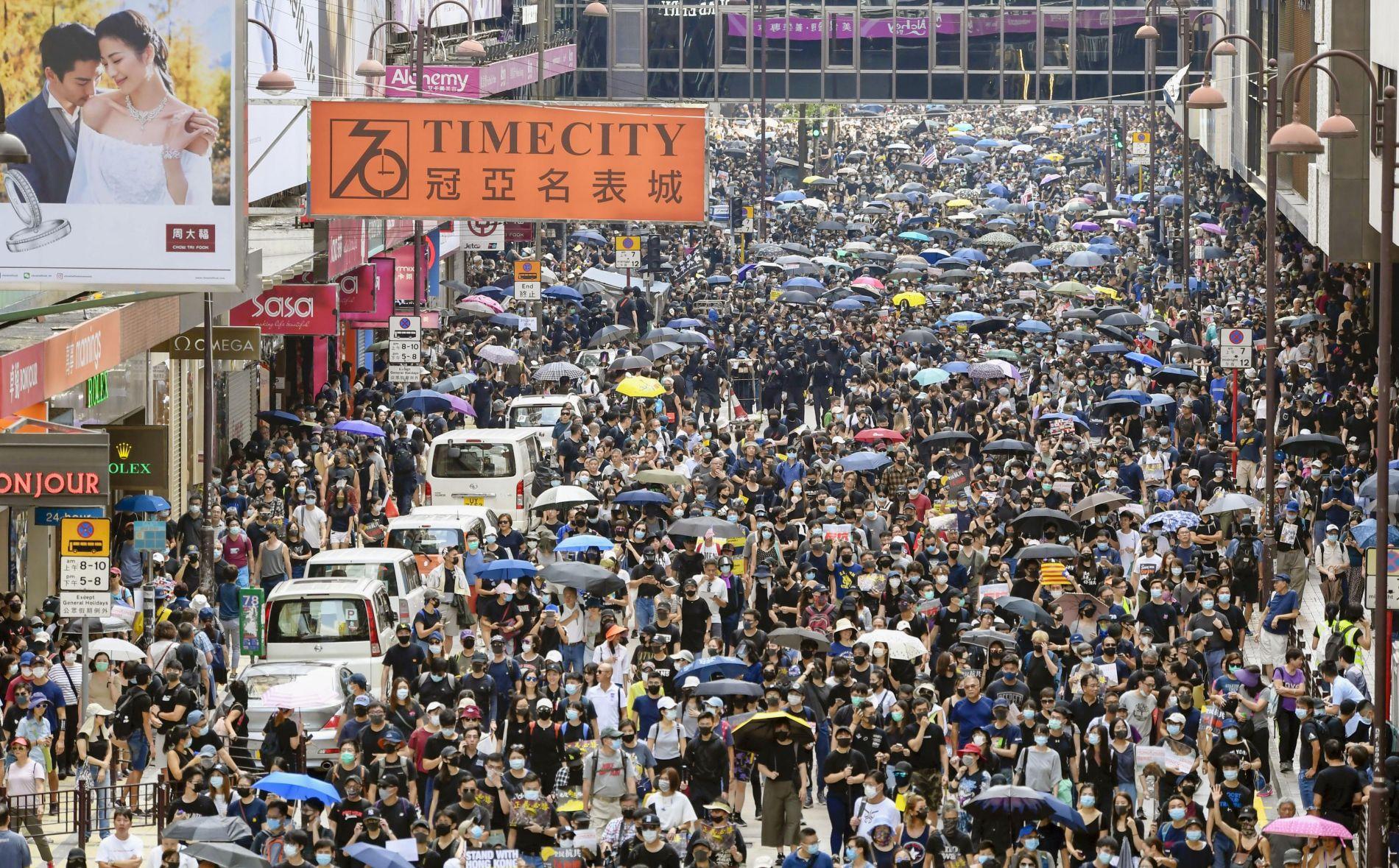 Hong Kong November 7 2019