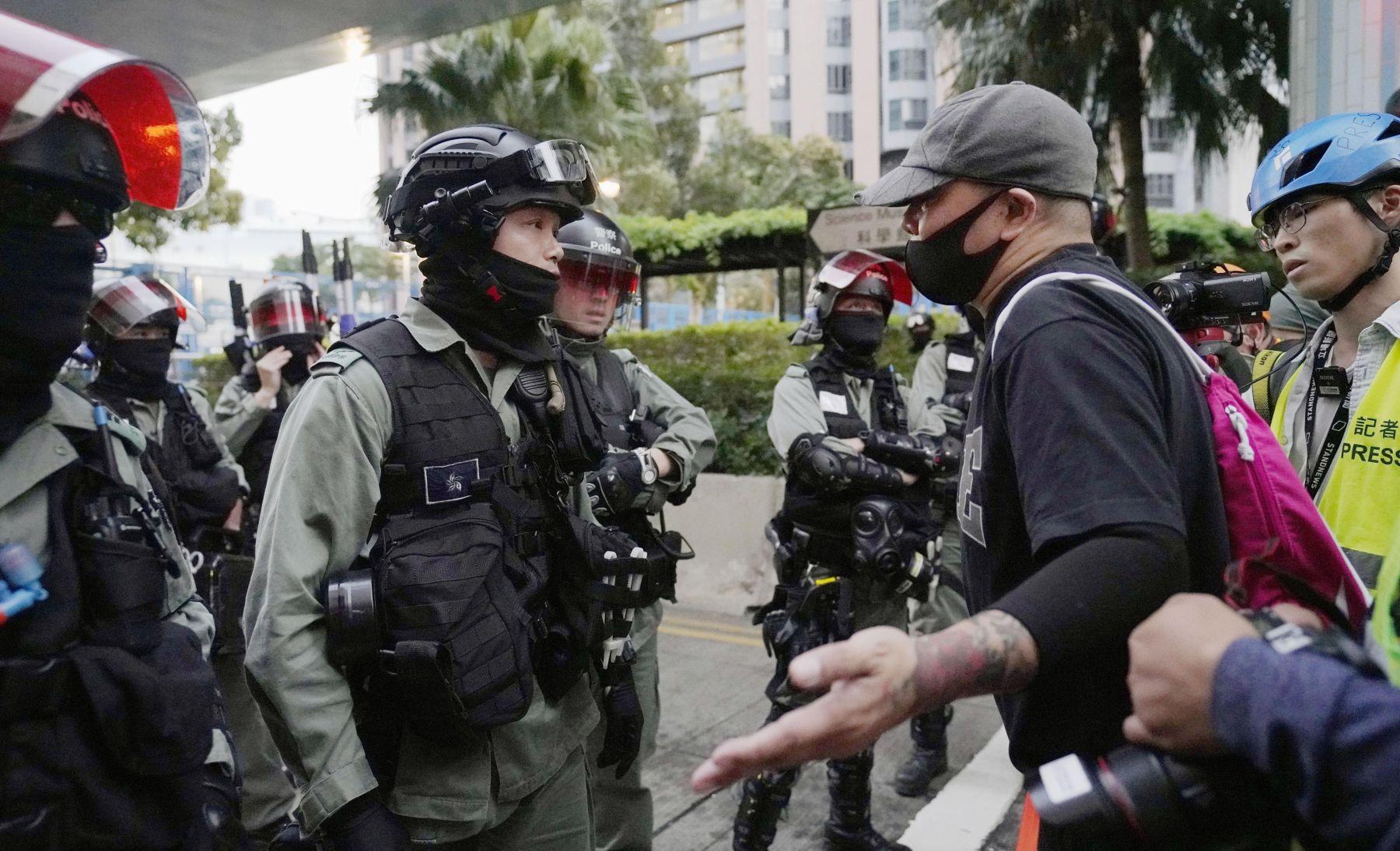 Hong Kong Election China 024