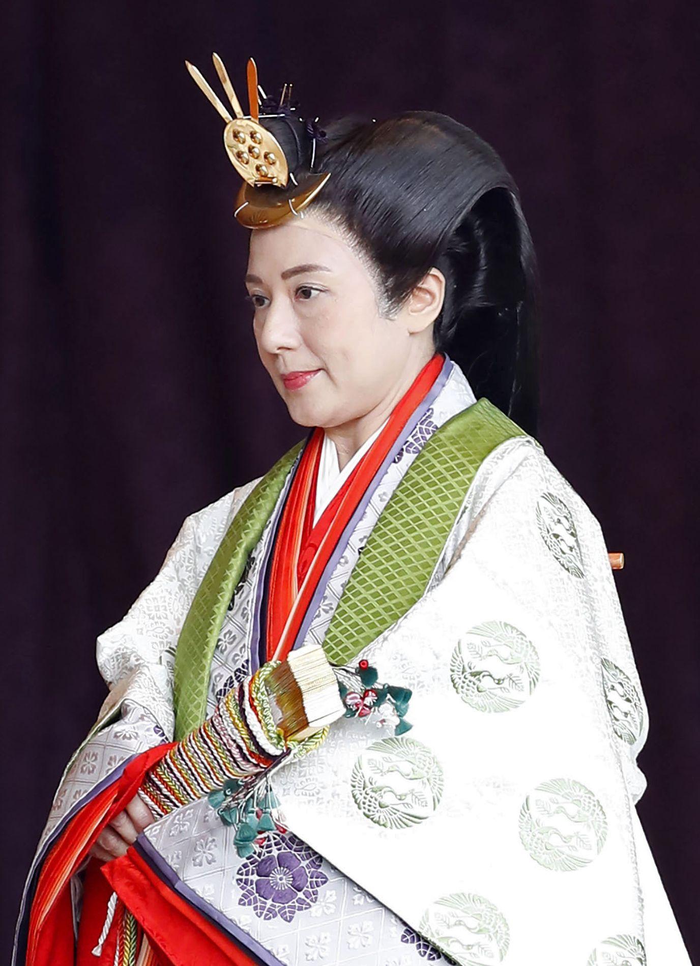 Japan Empress Masako Enthronement 009
