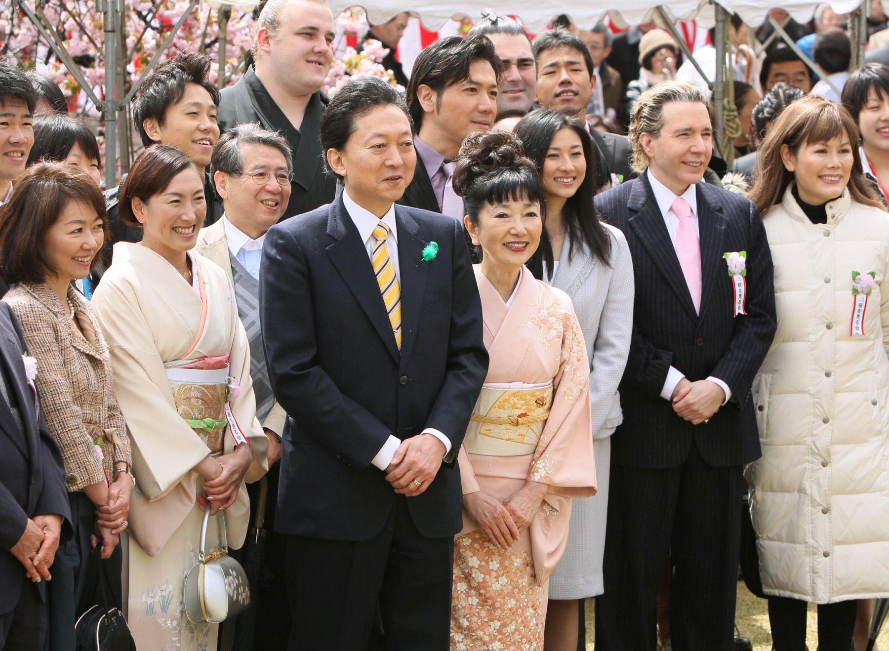 Japan Politics Cherry Blossoms Sakura wo miru kai 007
