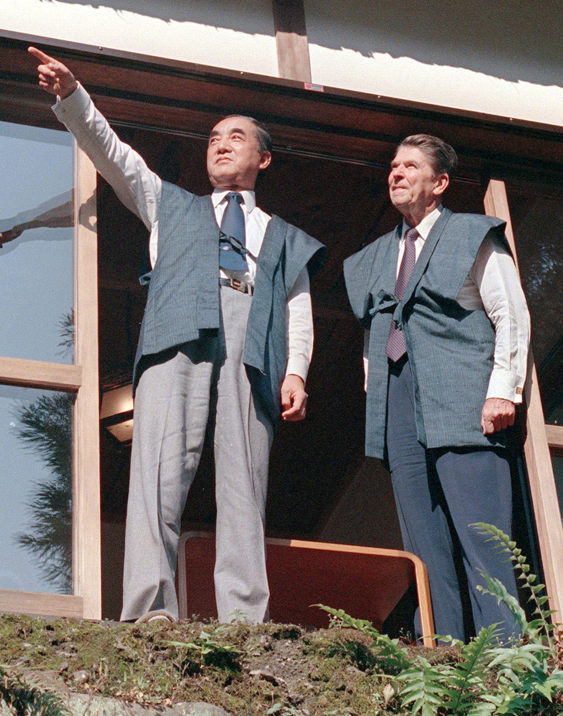Japan Yasuhiro Nakasone 002