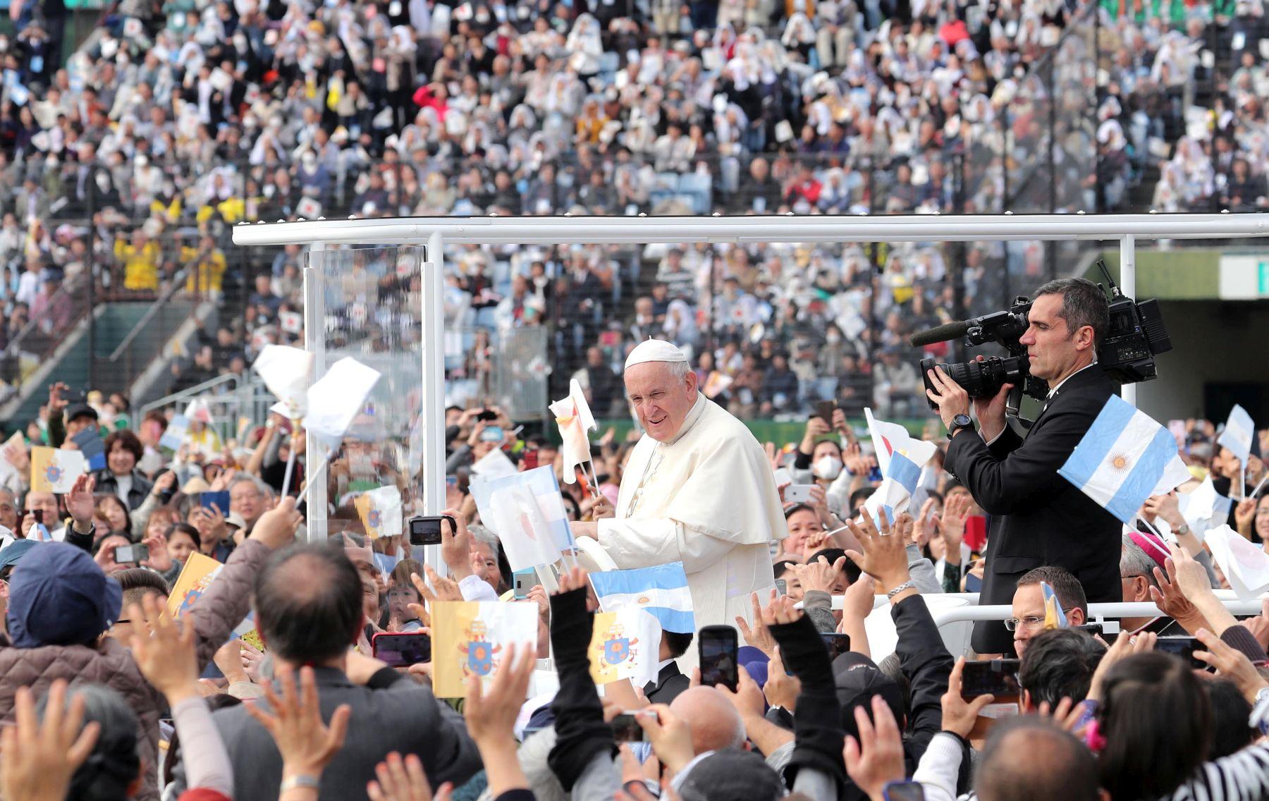 Pope in Japan Hiroshima Nagasaki