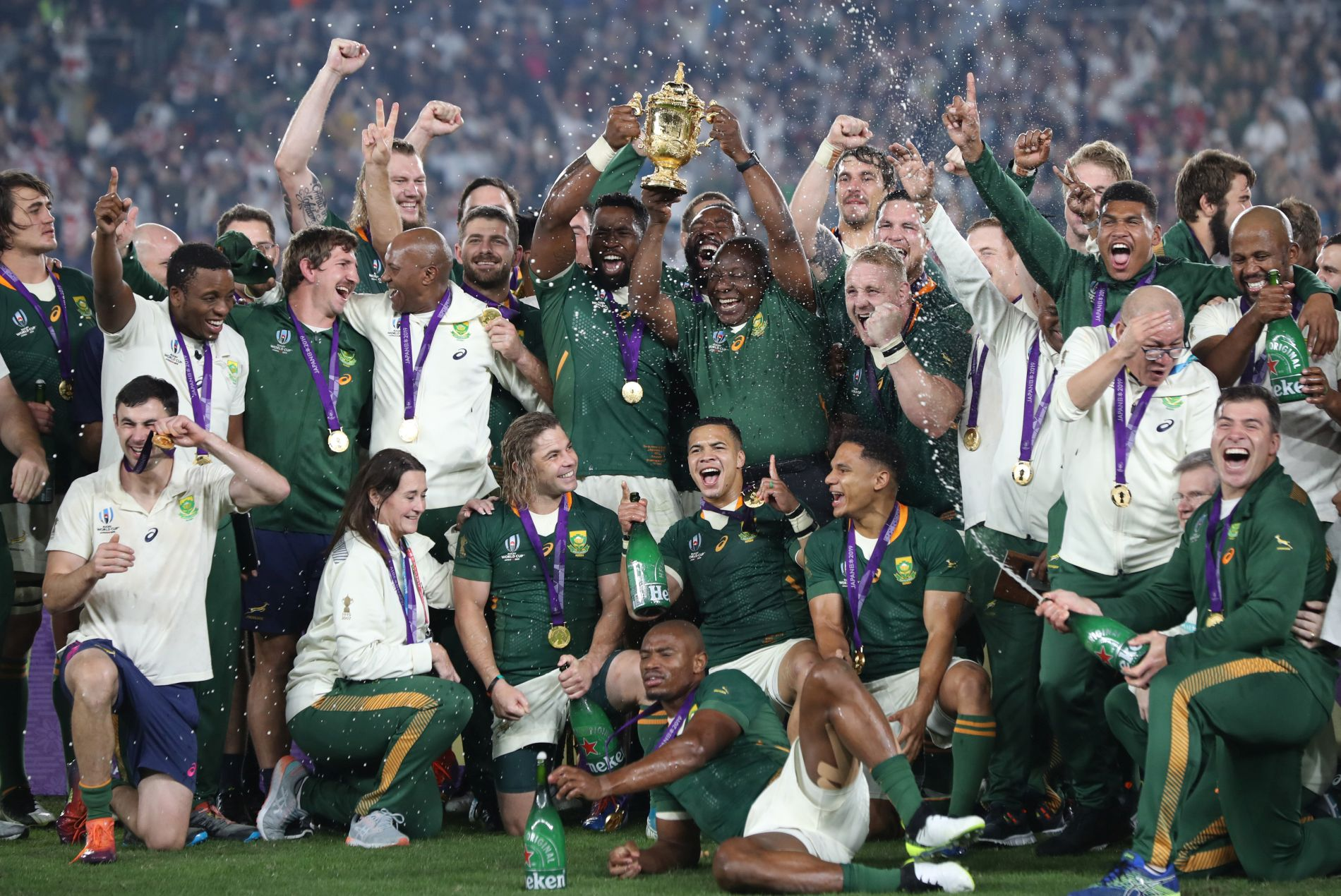 Rugby World Cup Final South Africa vs England