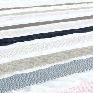 「雪の力で彩りはさらに増し、古い布はよみがえる 越後上布」-- 桑原 博