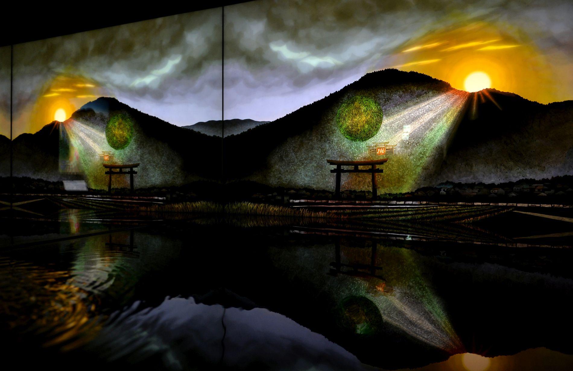 Soul of Japan Amano iwato Kami and Three Sacred Treasures 002