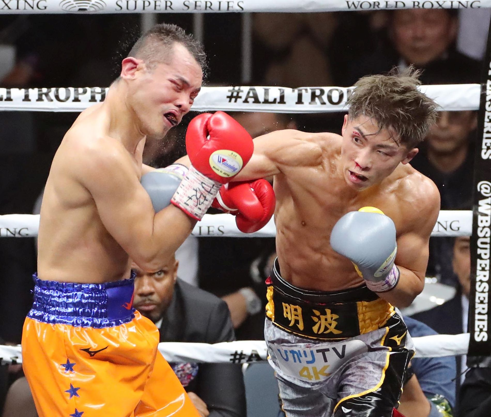 Wbss Match Naoya Inoue Vs Nonito Donaire 005 Japan Forward