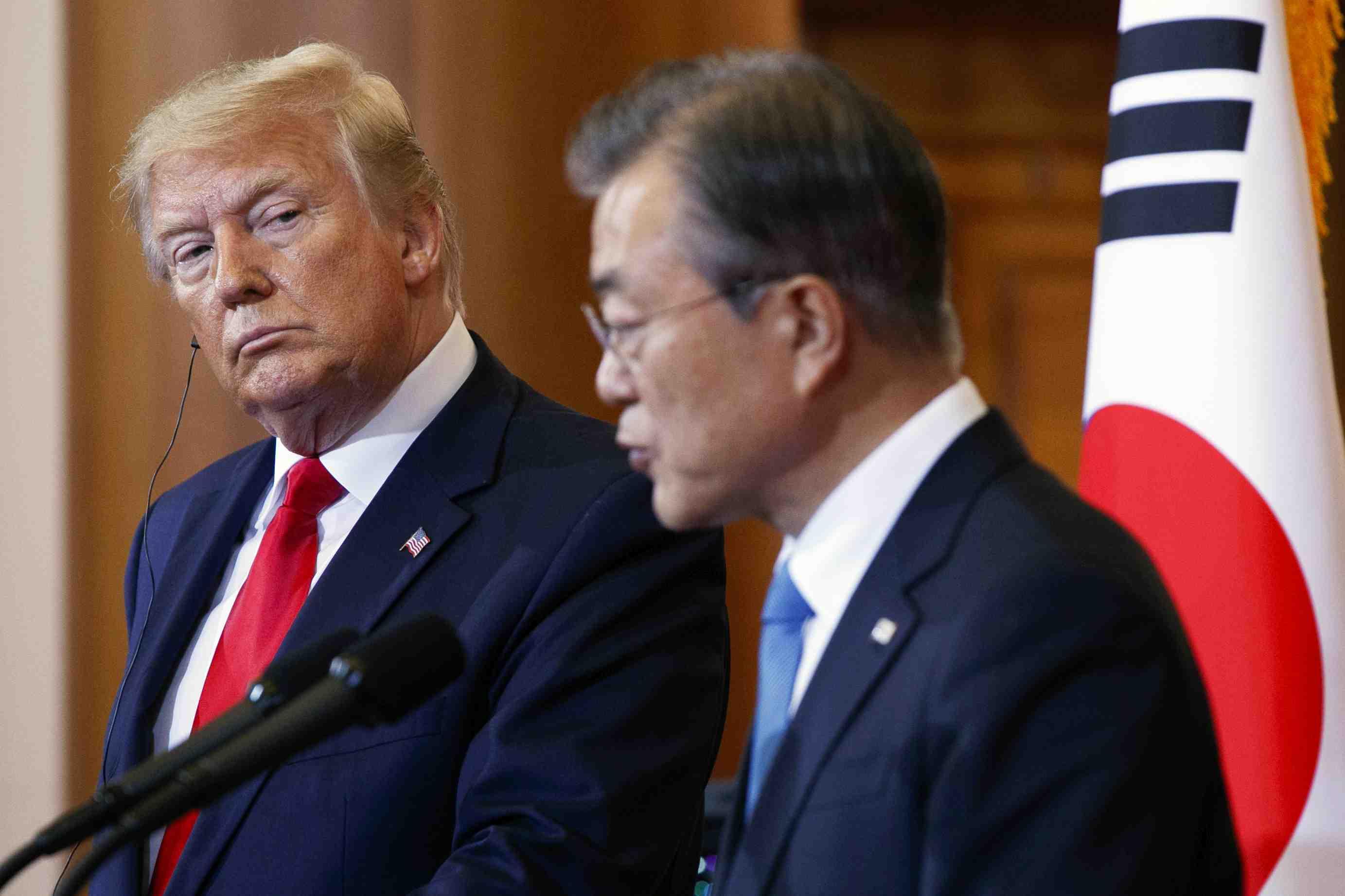 Korea US Trump