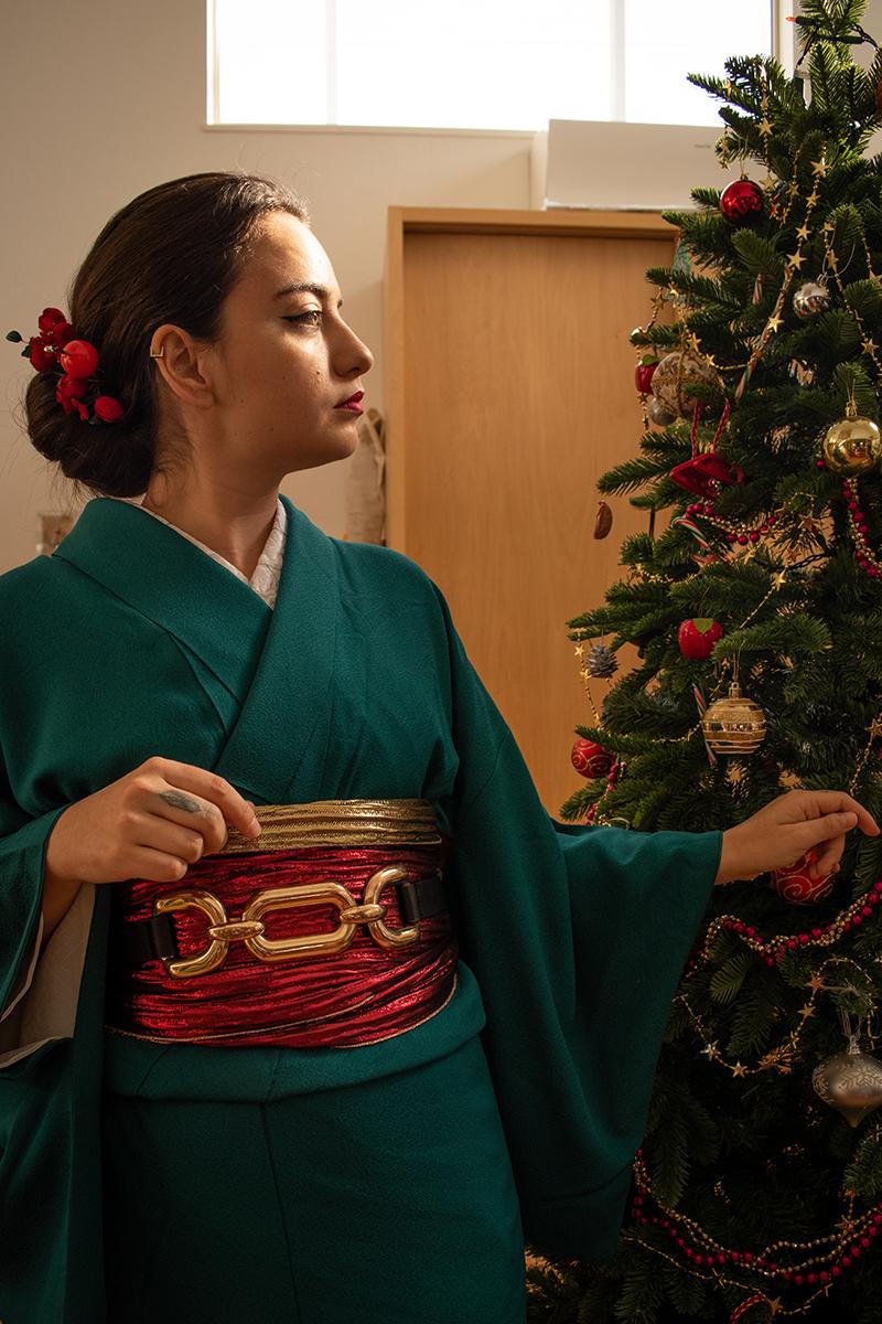 Christmas Kimono Ask Sheila Cliffe6