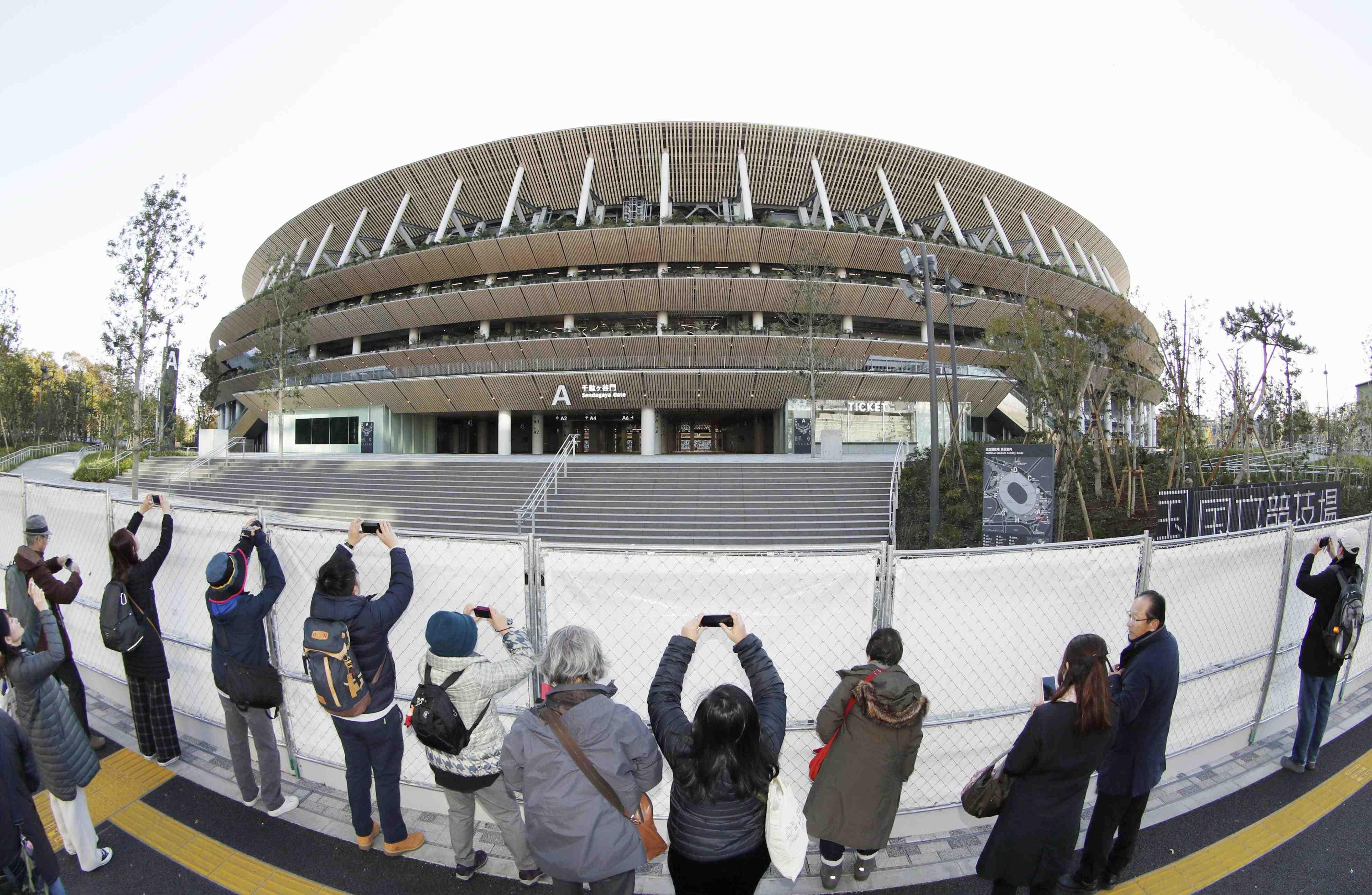 Japan New National Stadium Tokyo Olympics 2020 005