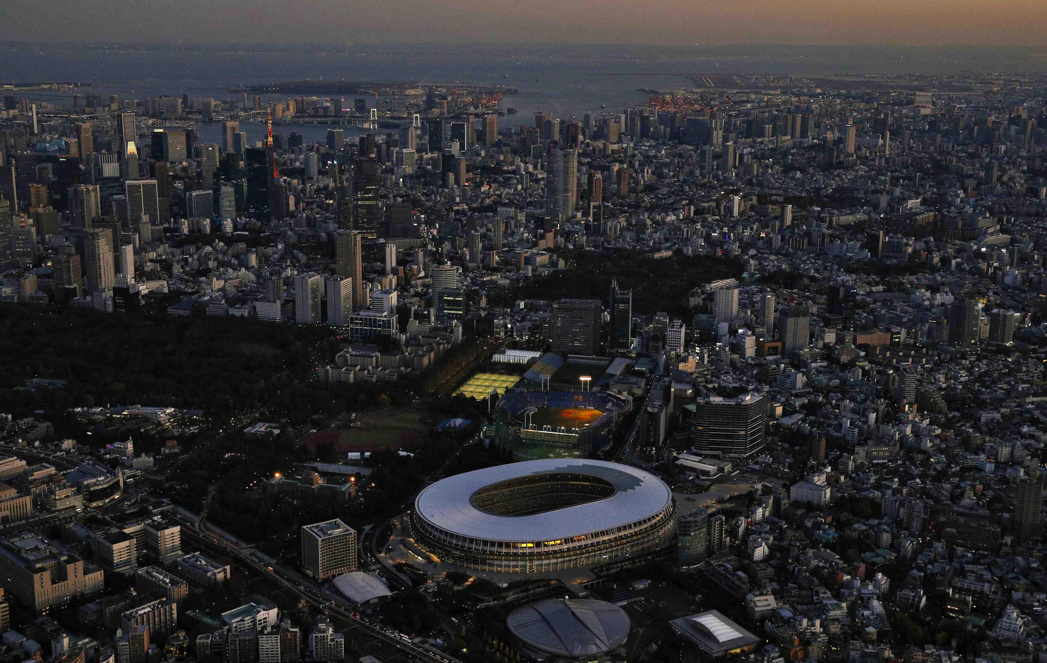 Japan New National Stadium Tokyo Olympics 2020 006
