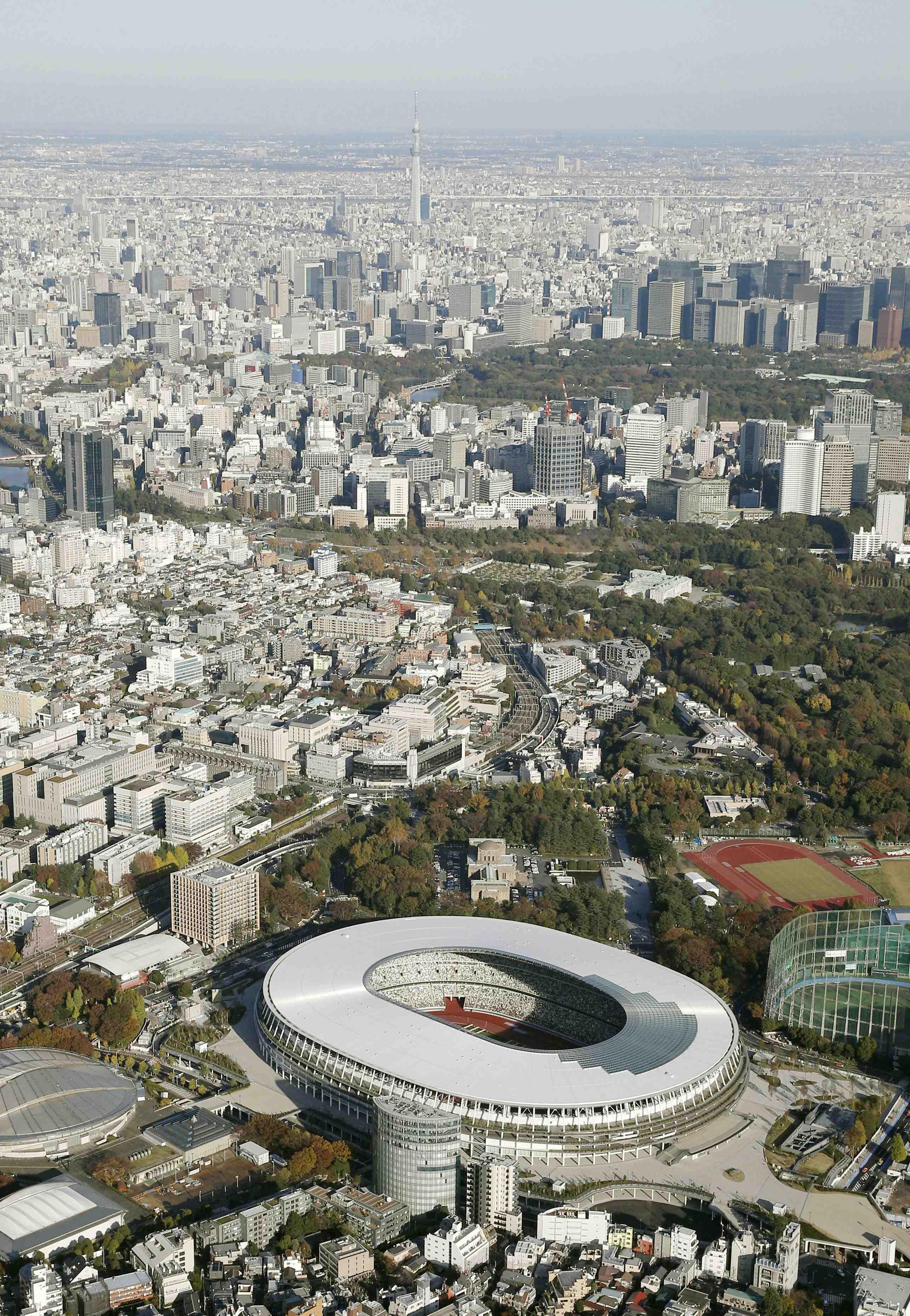 Japan New National Stadium Tokyo Olympics 2020 016