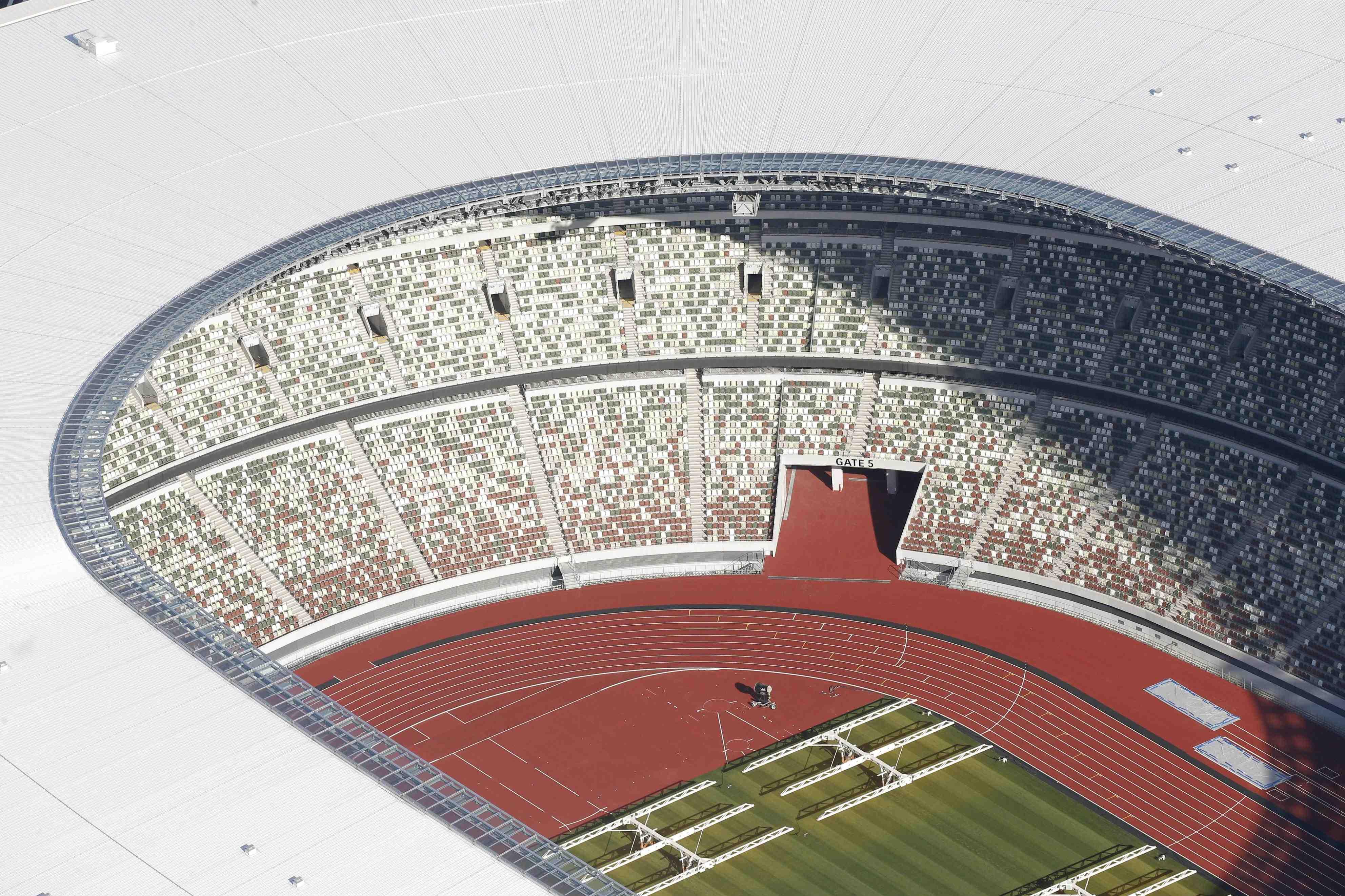 Japan New National Stadium Tokyo Olympics 2020 017