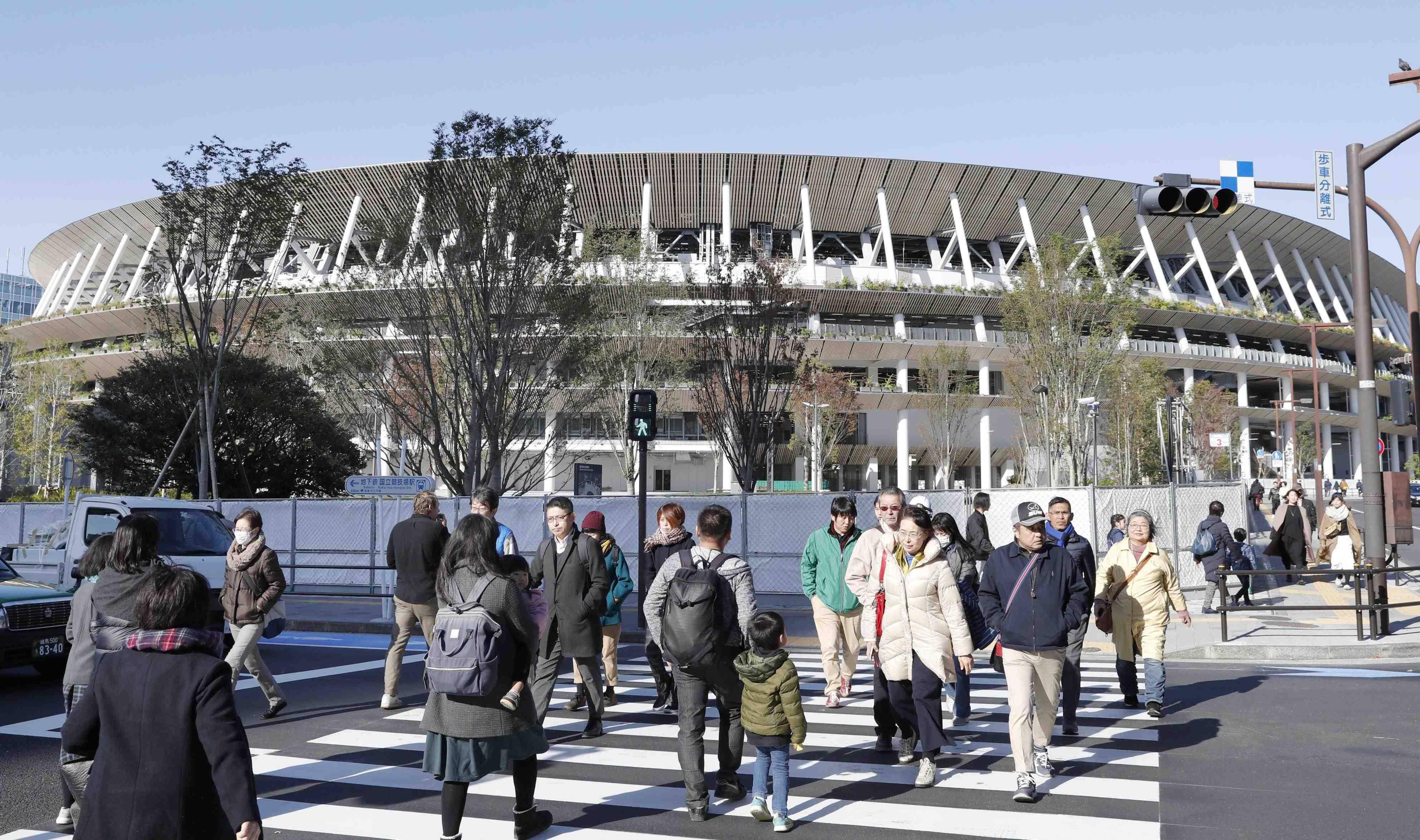 Japan New National Stadium Tokyo Olympics 2020 025