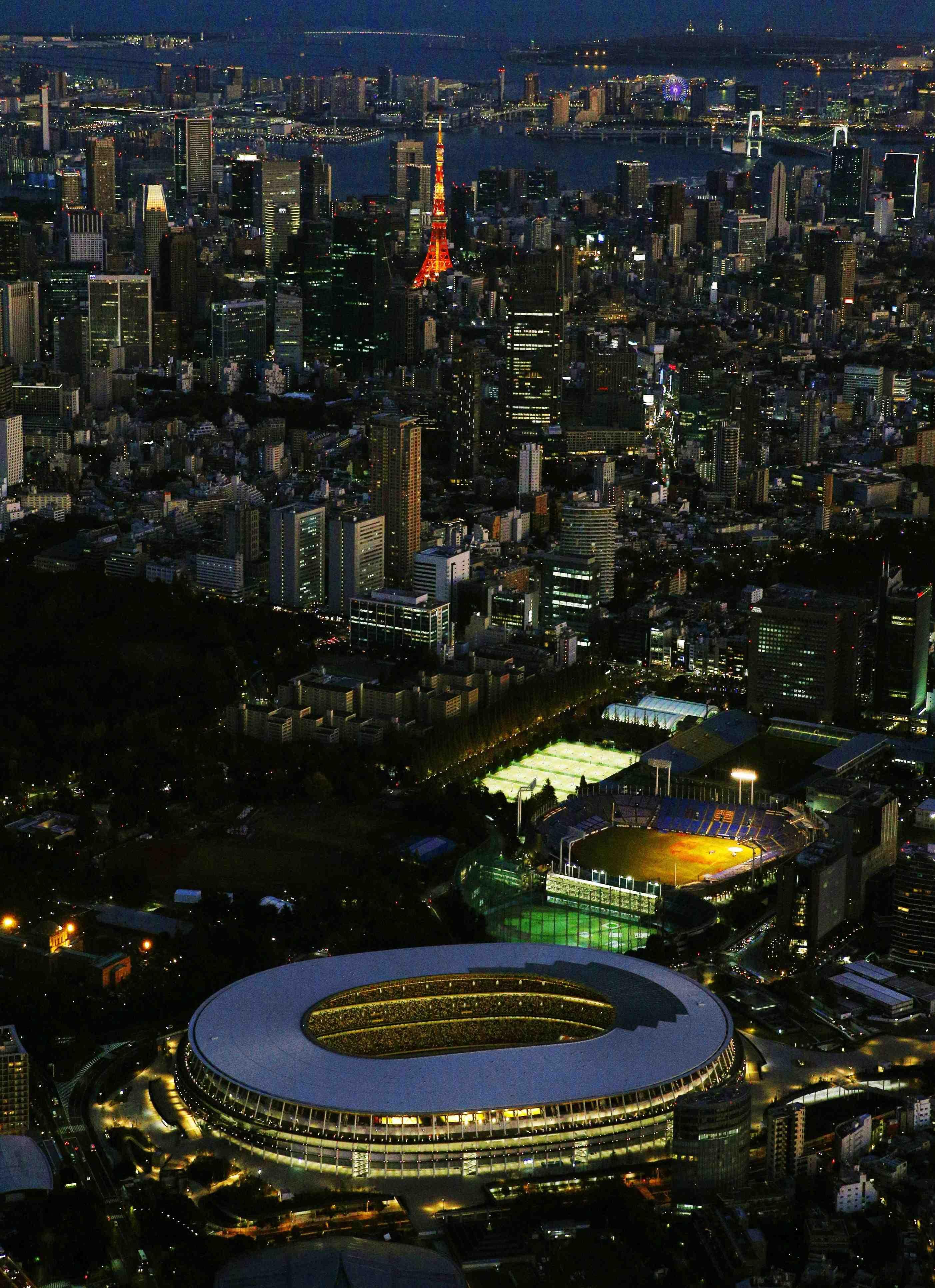 Japan New National Stadium Tokyo Olympics 2020 028
