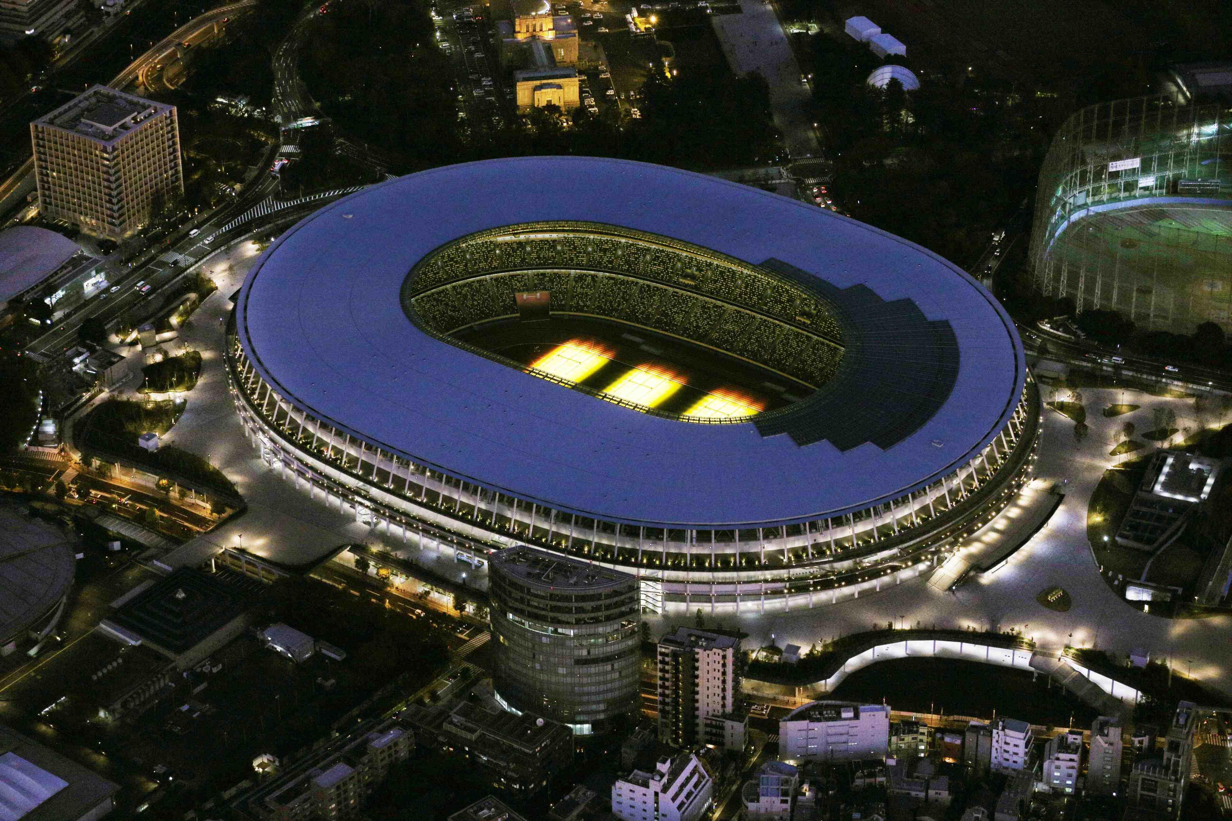 Japan New National Stadium Tokyo Olympics 2020 035