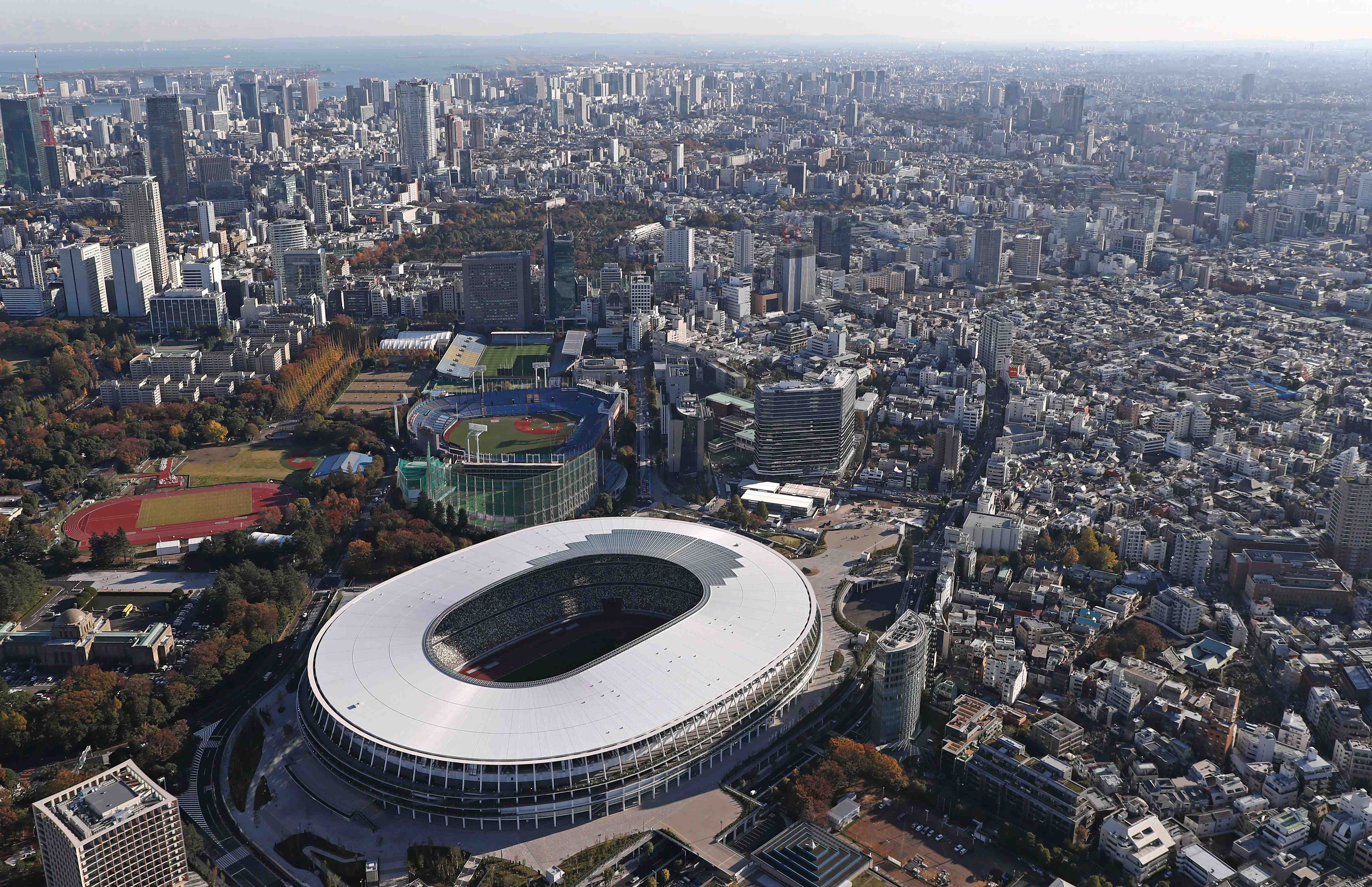Japan New National Stadium Tokyo Olympics 2020 036