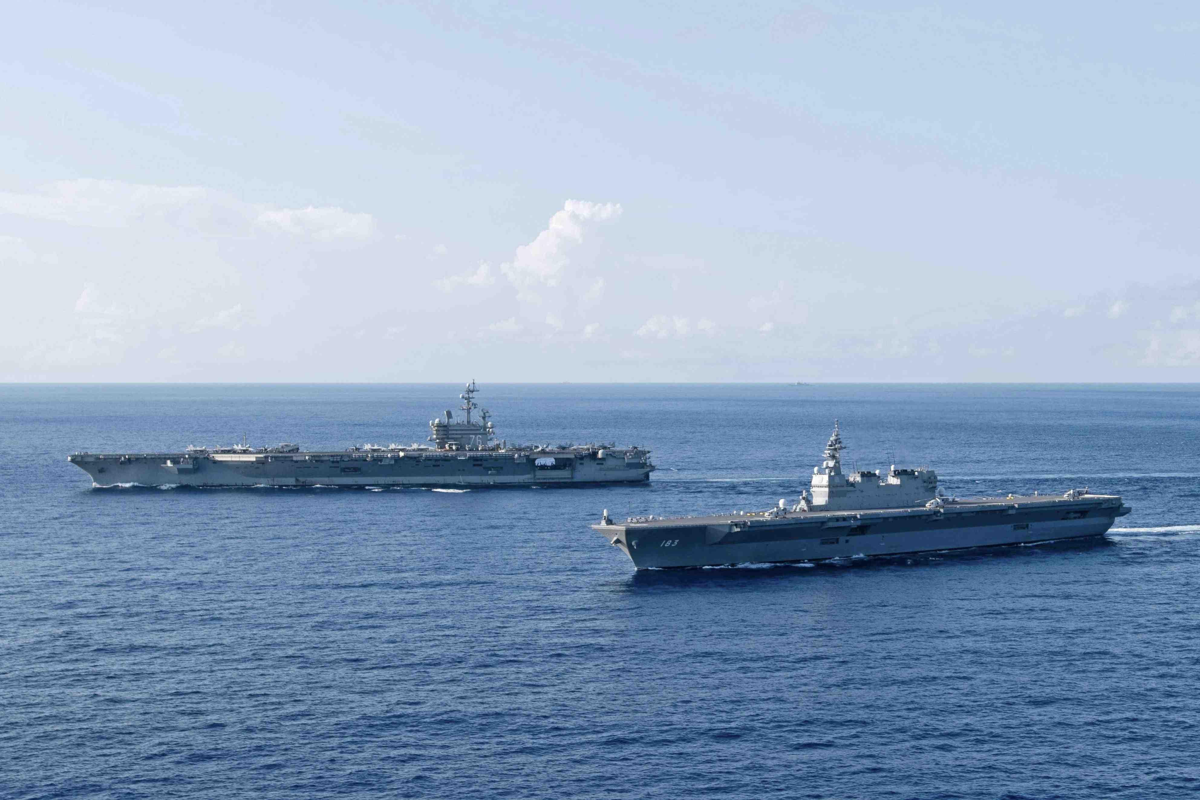 Japan, U.S. and South China Sea 012