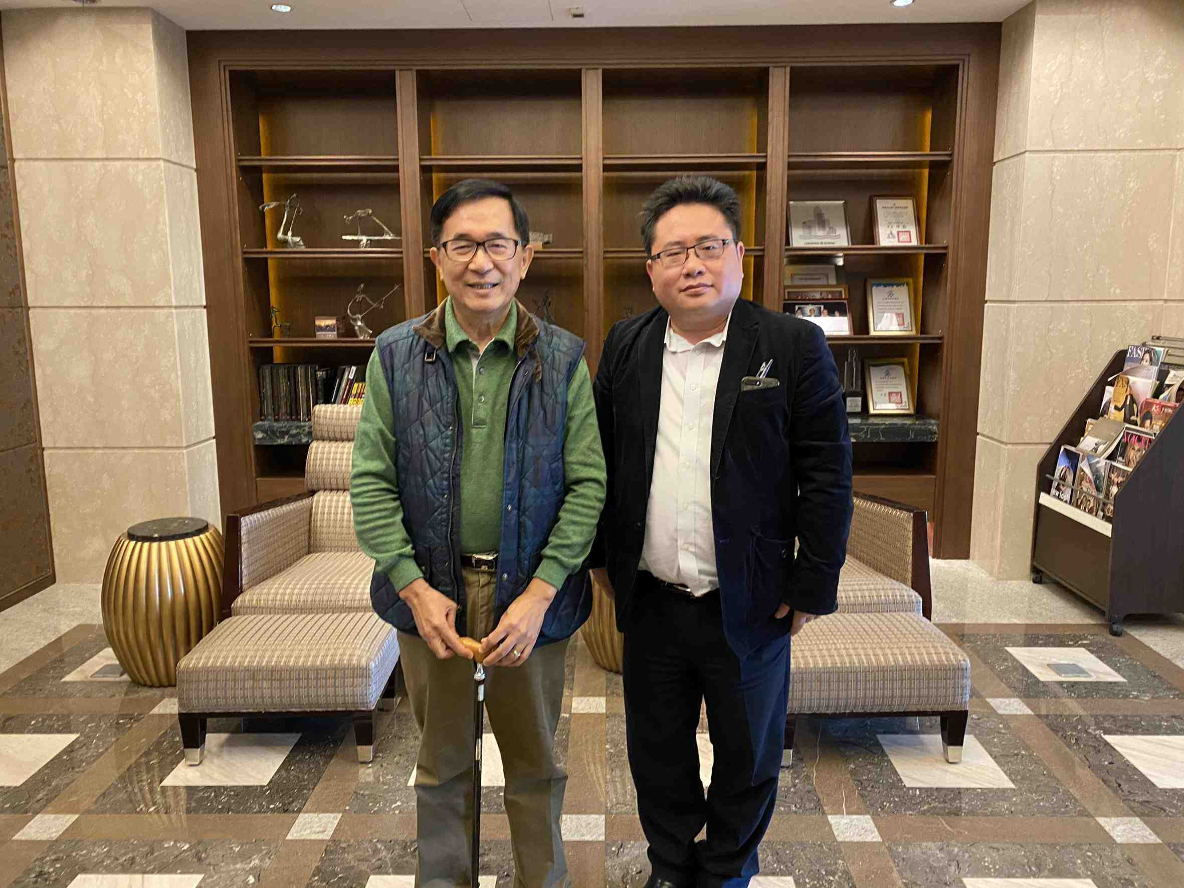 Interview with Former Taiwan President Chen Shui-bian 001