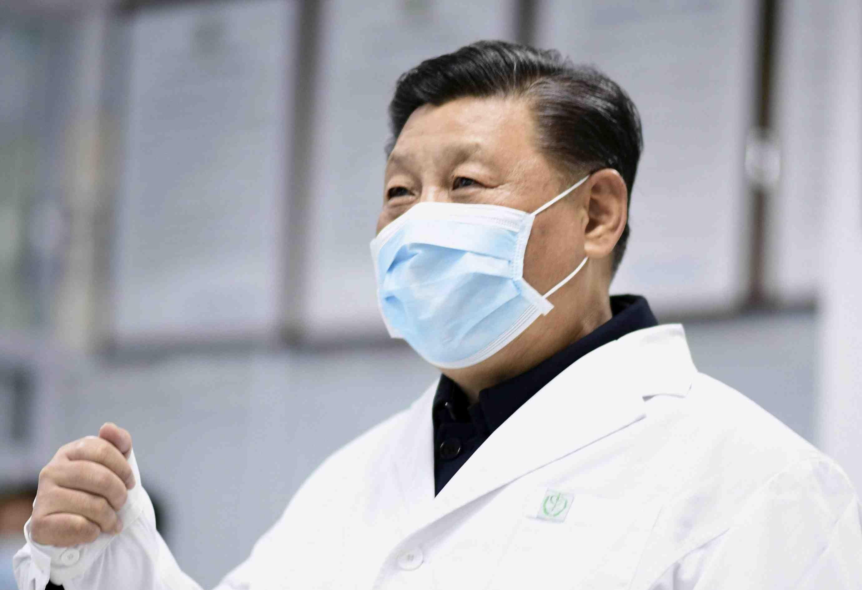China Coronavirus and Xi Jinping Mask 001