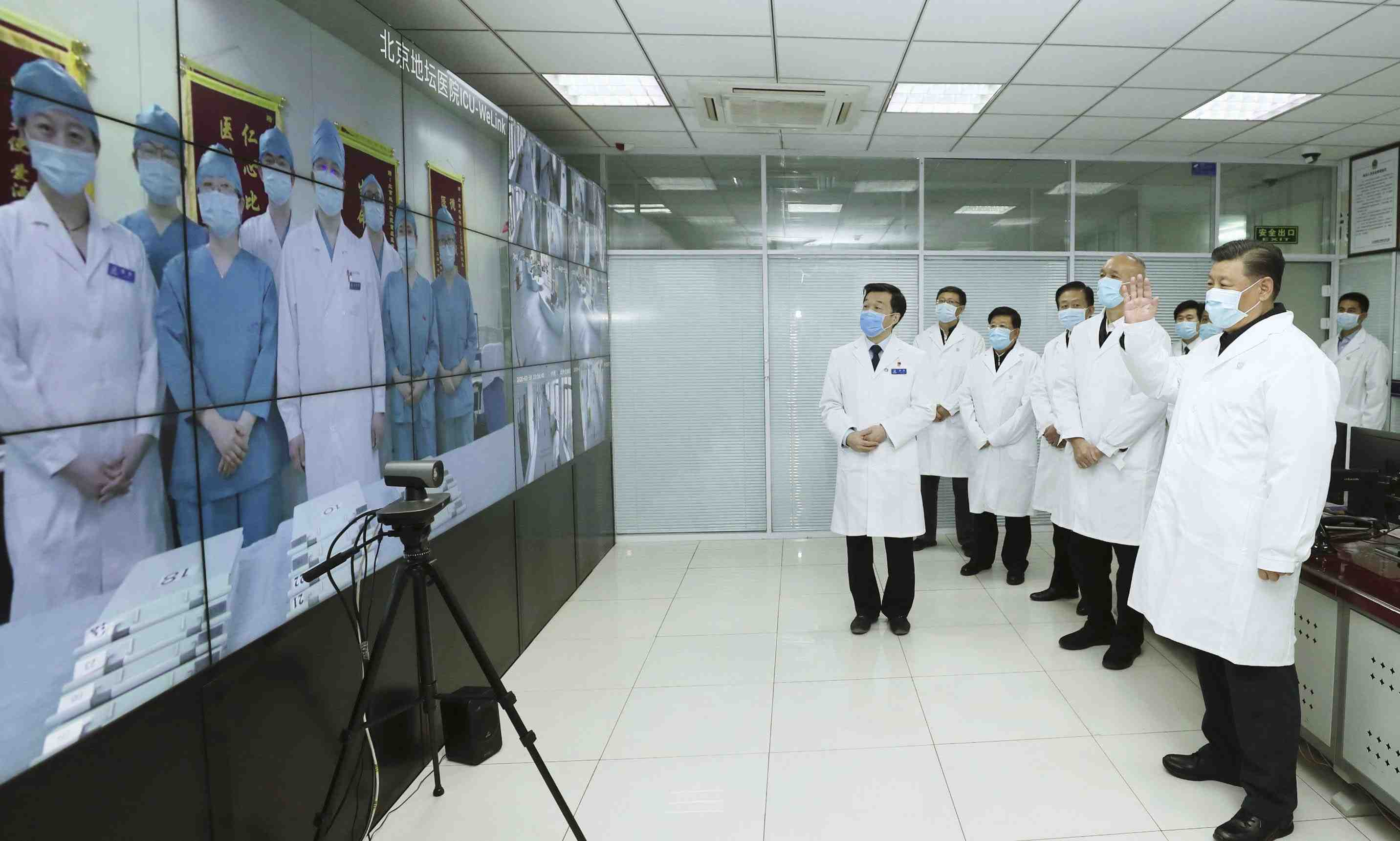 China Coronavirus and Xi Jinping Mask 002
