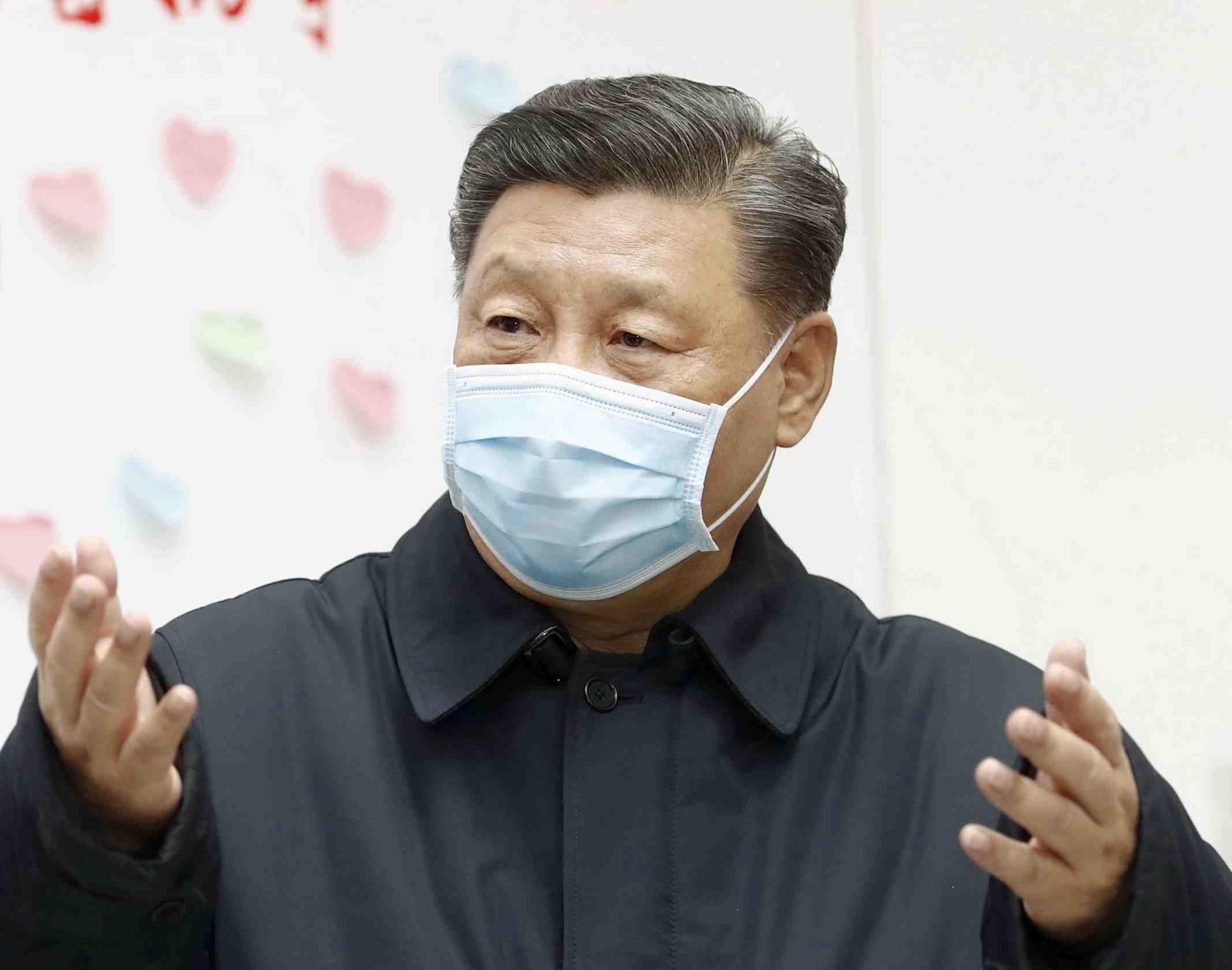 China Coronavirus and Xi Jinping Mask 006
