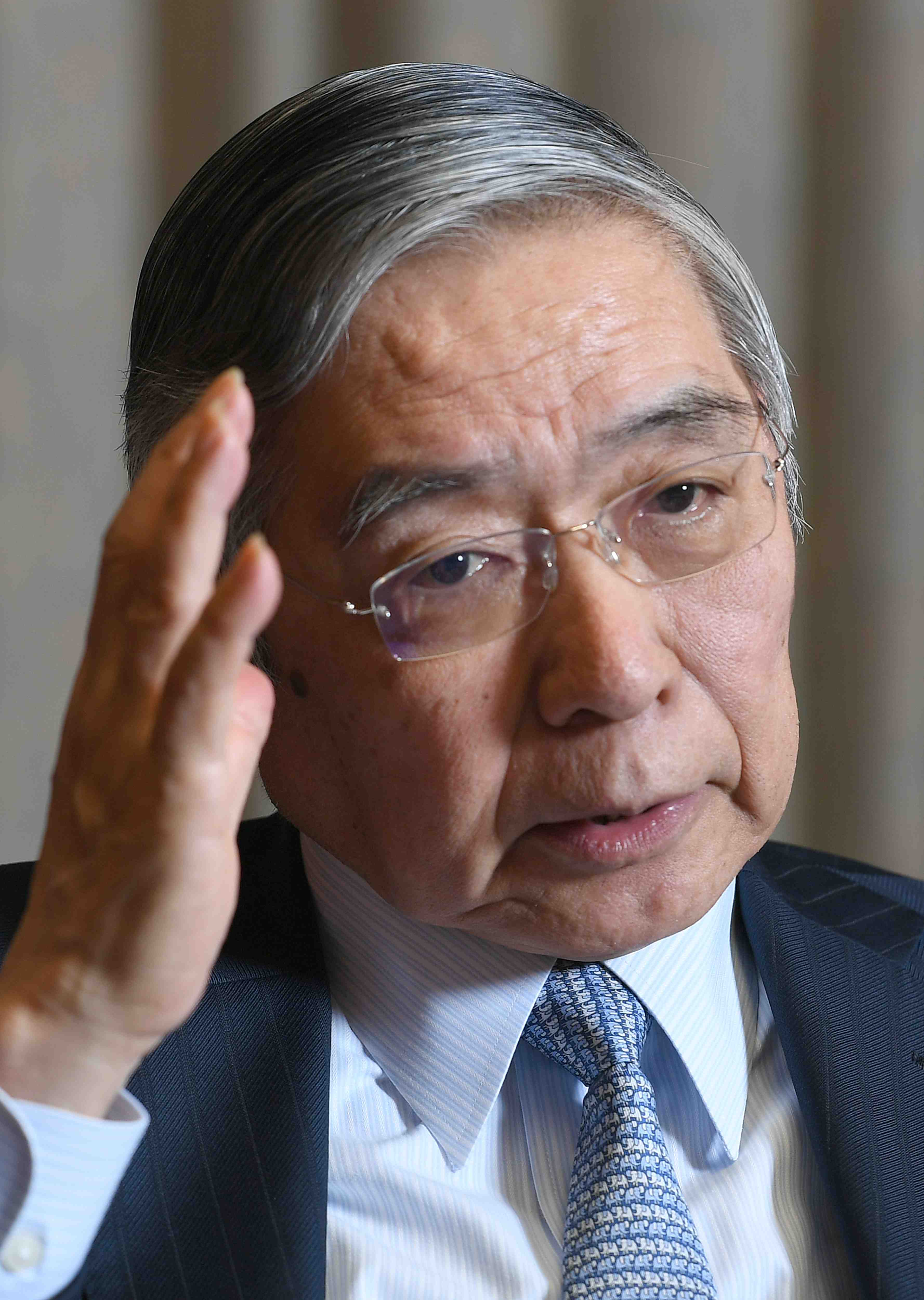 Interview with Haruhiko Kuroda Governor of the Bank of Japan