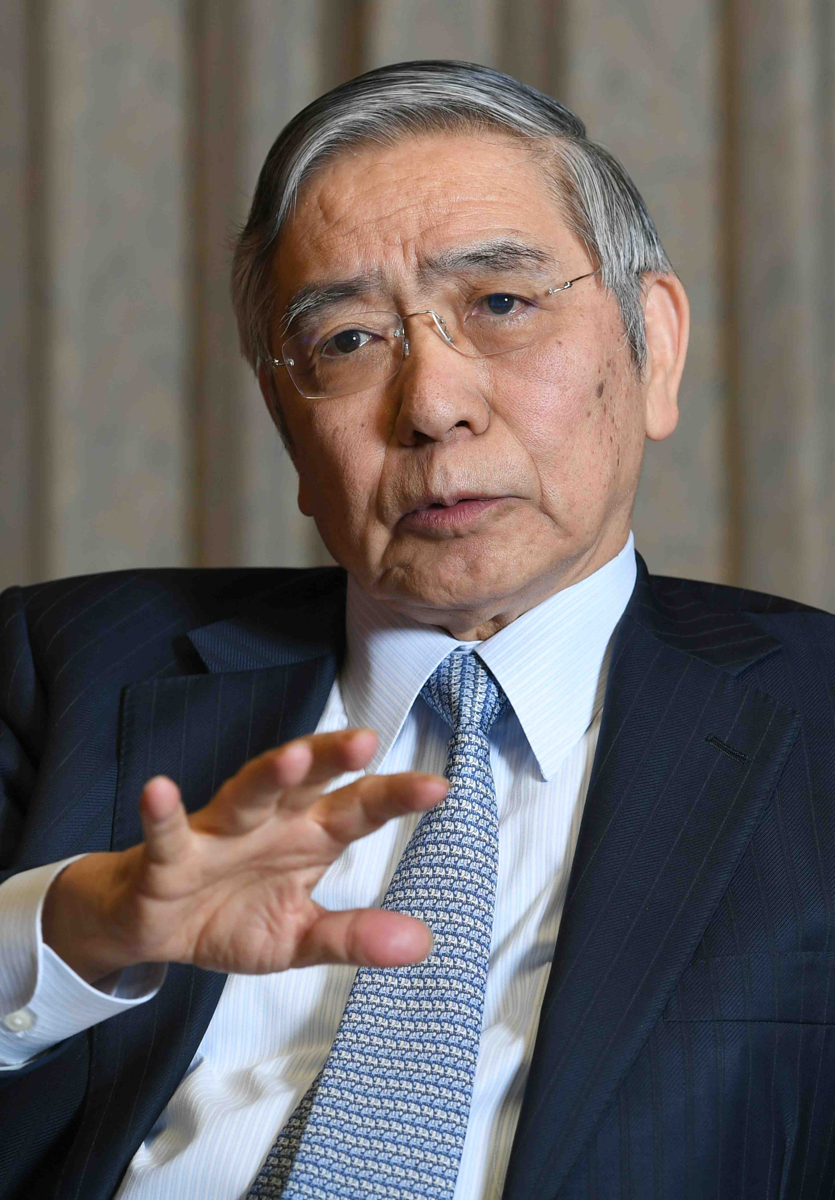 Interview with Haruhiko Kuroda Governor of the Bank of Japan