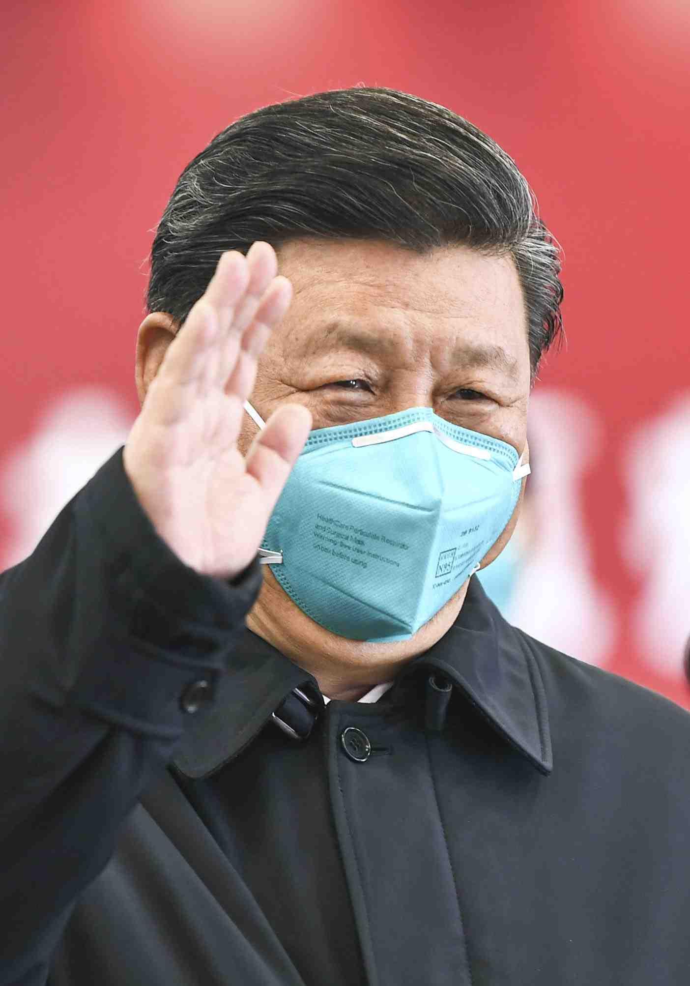 China Xi Jinping and Coronavirus 009