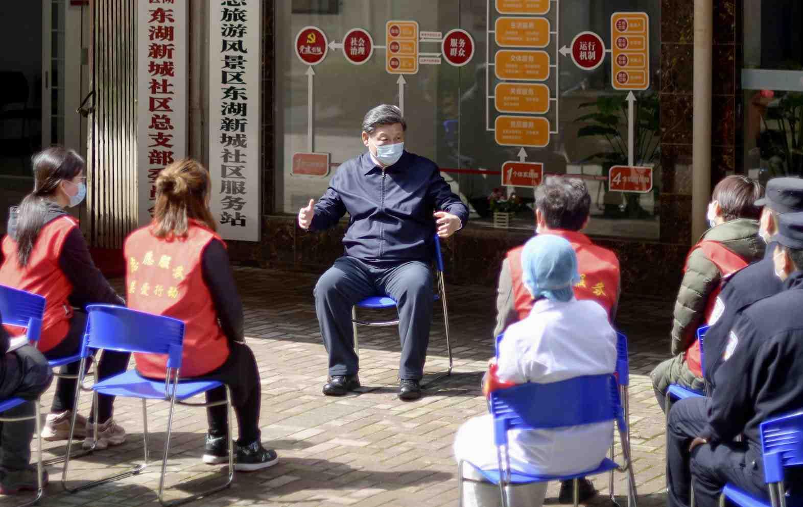 China Xi Jinping and Coronavirus 010