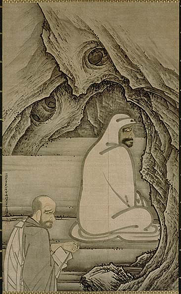 Huike Offering His Arm to Bodhidharma'
