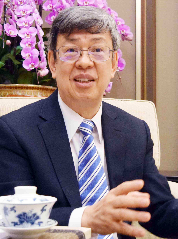 Interview with Taiwan VP on Coronavirus 001