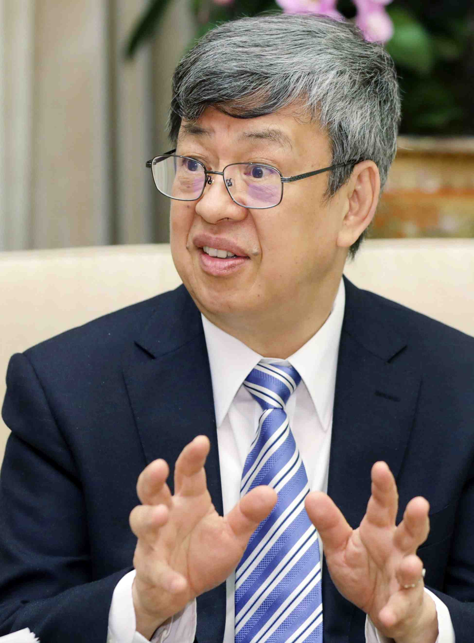 Interview with Taiwan VP on Coronavirus 004